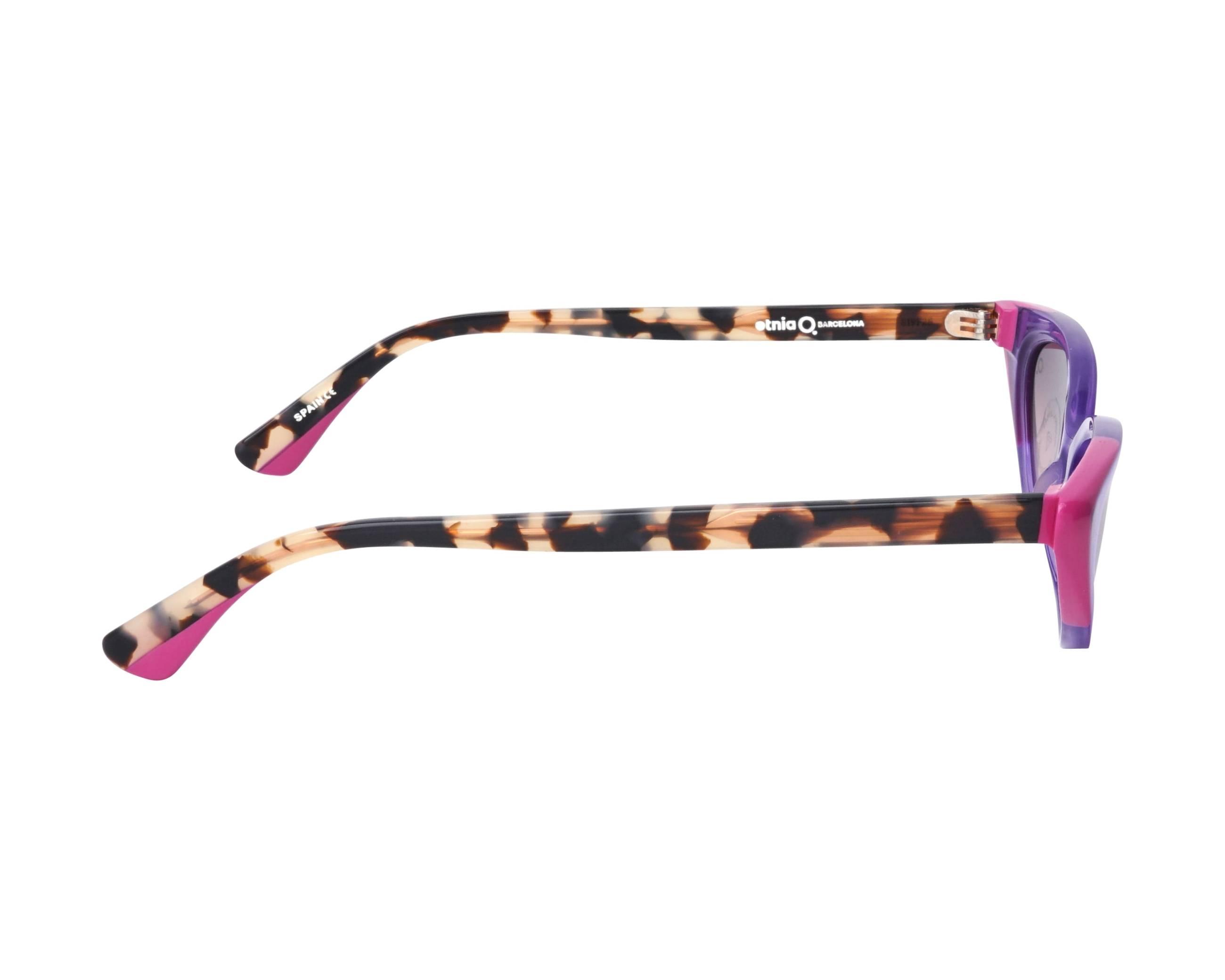 cf51cbd6f2 Sunglasses Etnia Barcelona BANDAI PUHV 51-18 Violet Brown side view