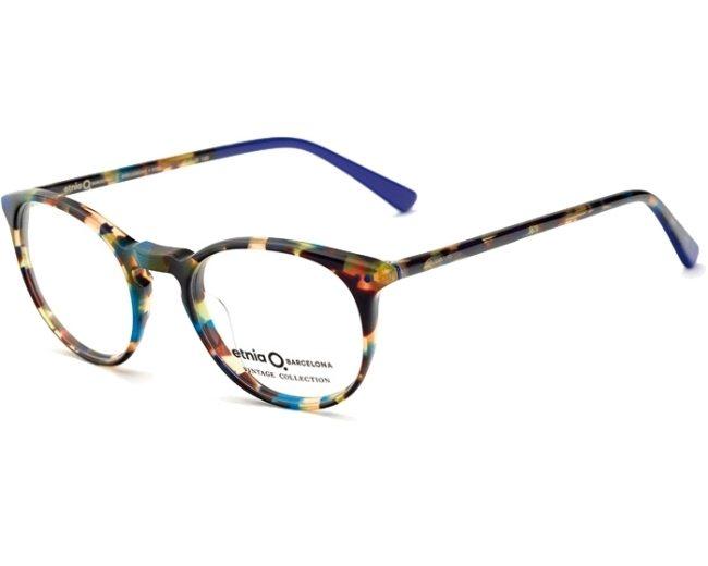 fe16583ef07 eyeglasses Etnia Barcelona KREUZBERG HVBL - Havana Turquoise profile view