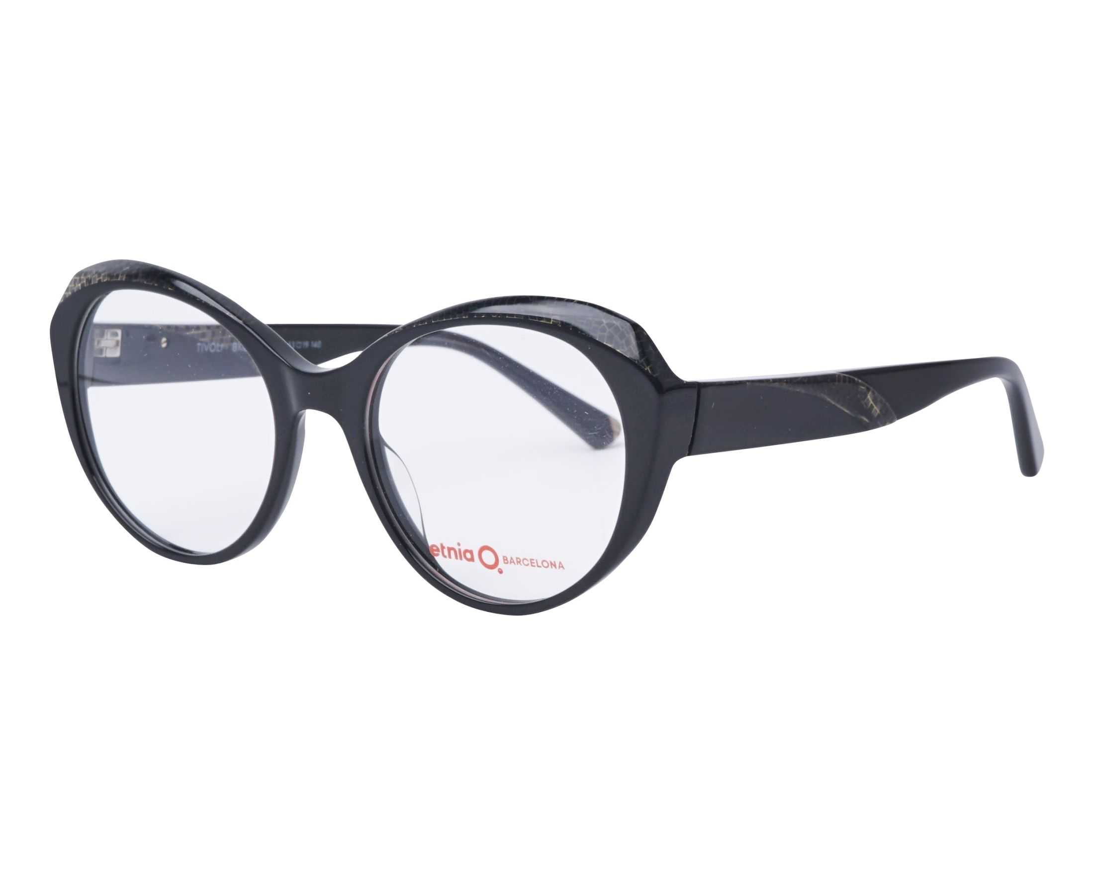 a7f8eab147d eyeglasses Etnia Barcelona TIVOLI BKCH - Black Gold profile view