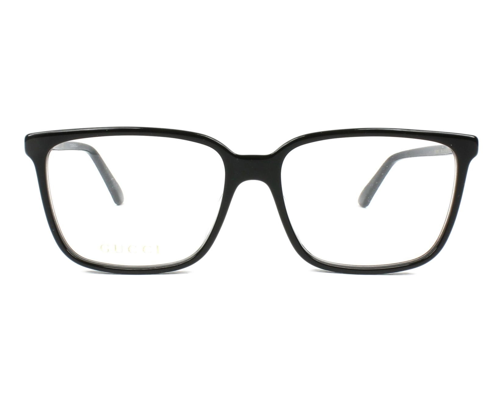78dd5c5f8a0 eyeglasses Gucci GG-00190 001 56-16 Black front view