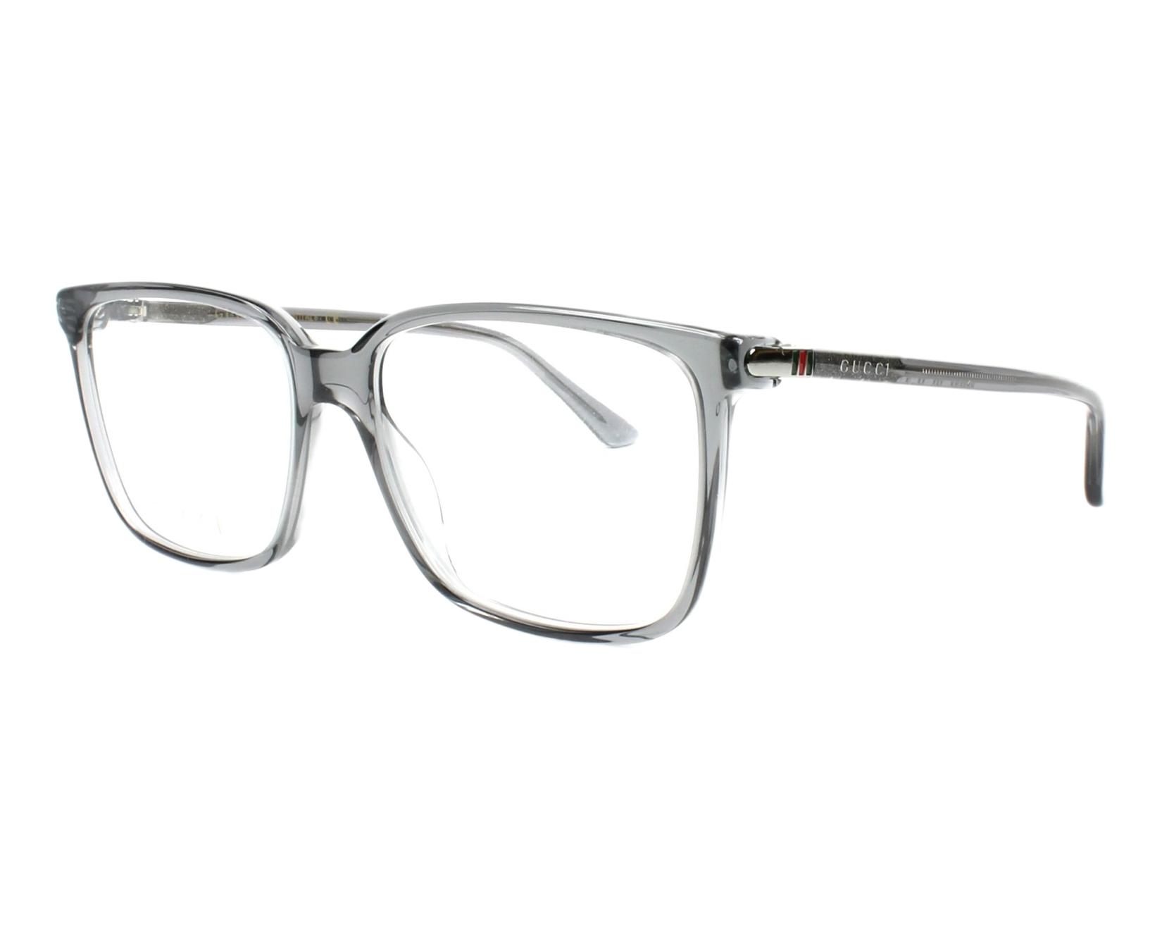 beccb180961 eyeglasses Gucci GG-00190 003 - Grey profile view