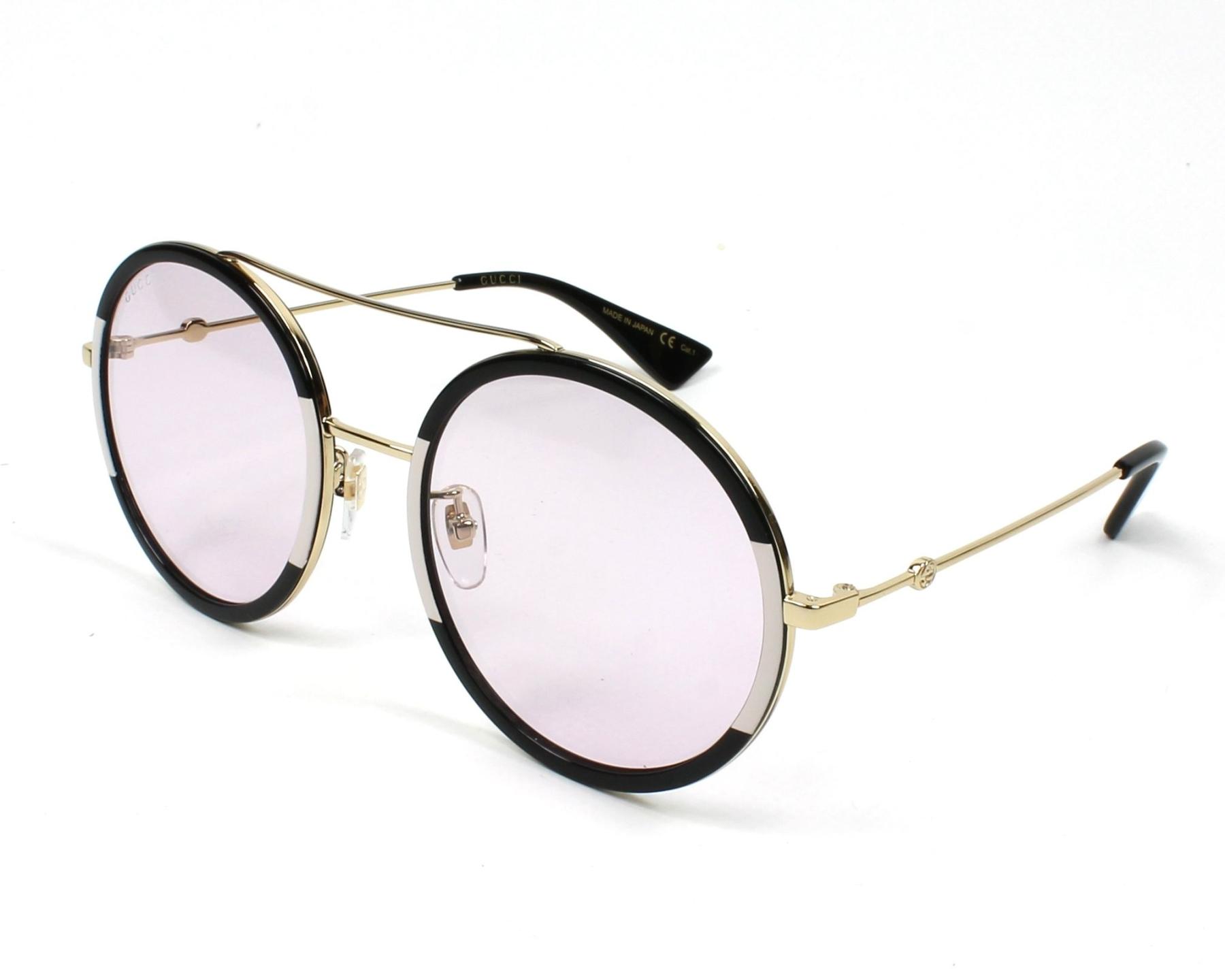 34b480b95a Gucci Sunglasses GG-0061-S 006 56-22 Black Pink