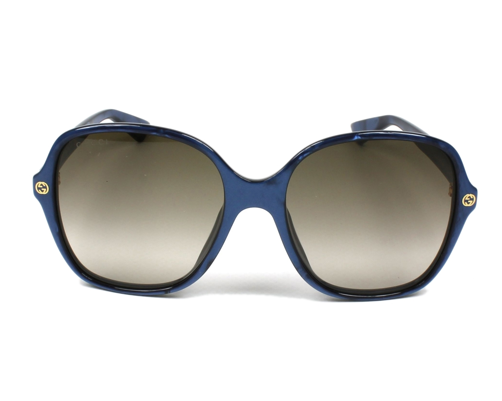 402a322def Sunglasses Gucci GG-0092-S 005 - Blue front view