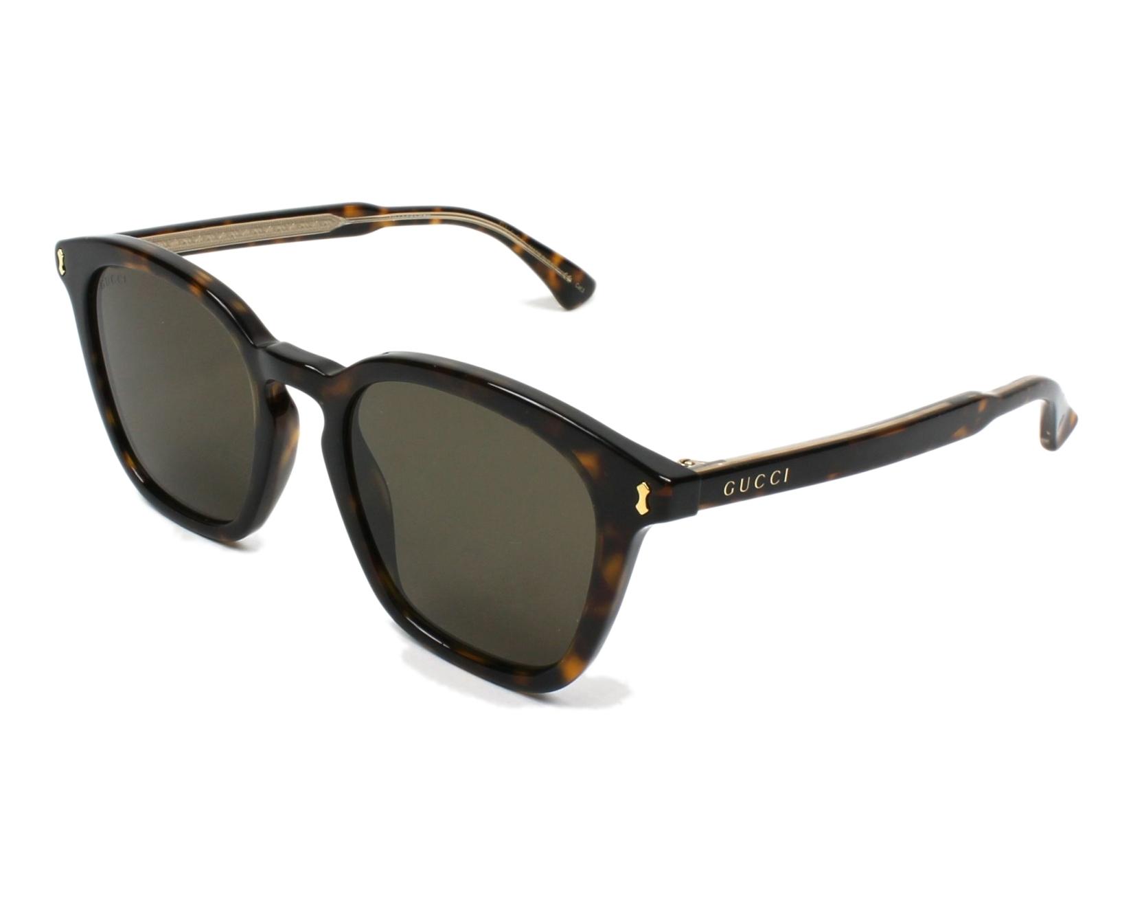 42143b2e868f0 Sunglasses Gucci GG-0125-S 002 - Havana profile view