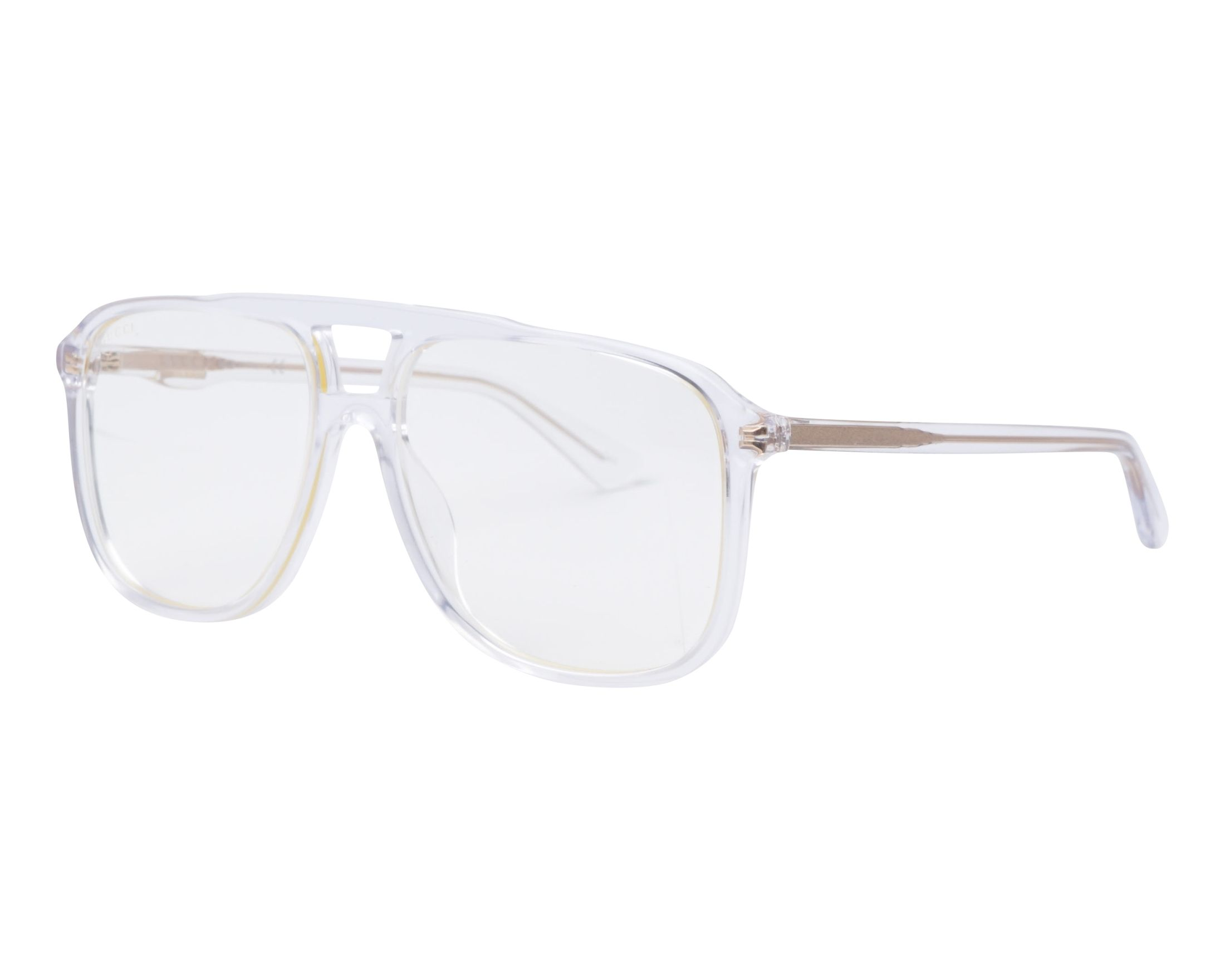 45456dca2c8 eyeglasses Gucci GG-0262-S 006 58-16 Crystal profile view
