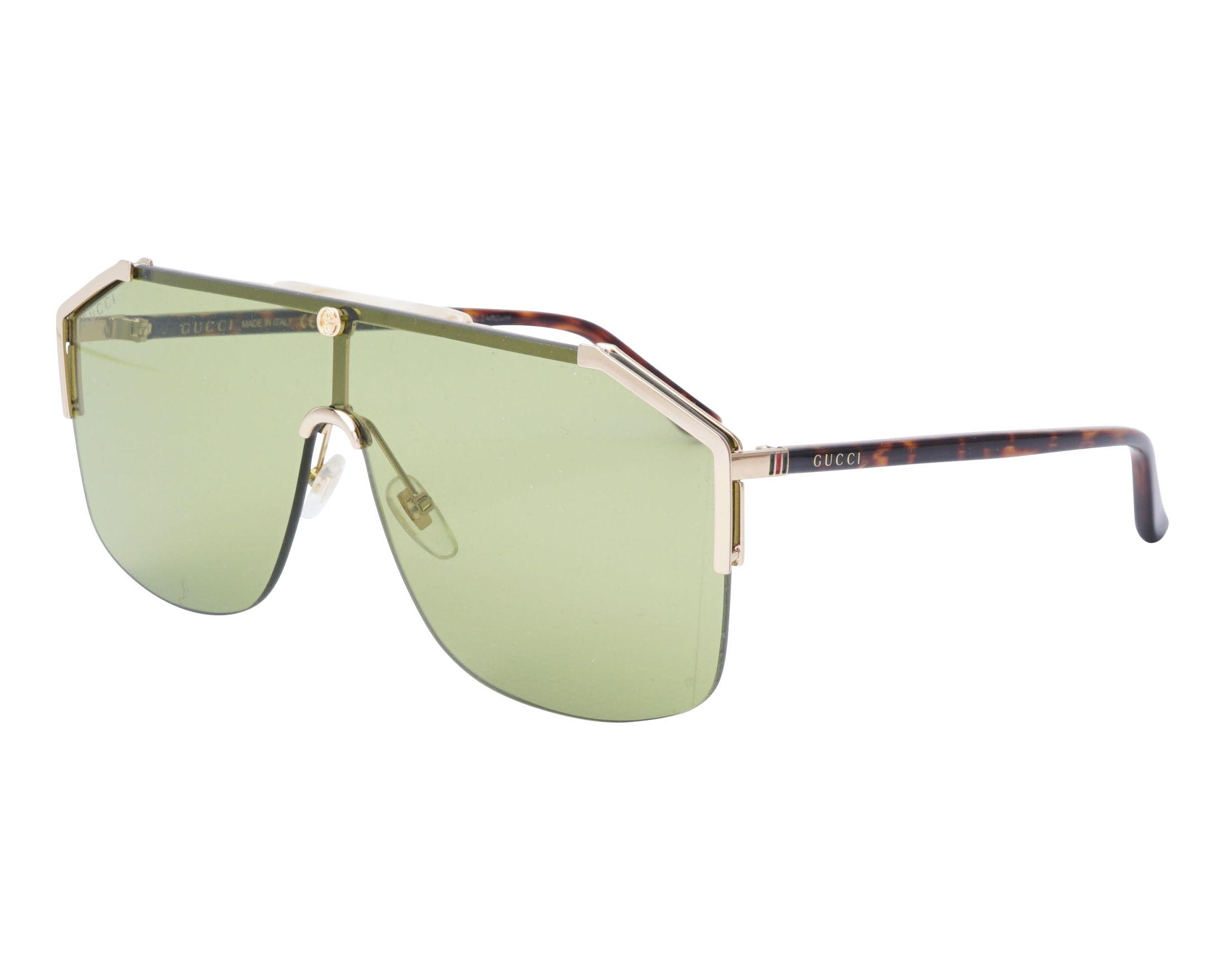 3a4bd0f6714 Sunglasses Gucci GG-0291-S 004 99-1 Gold Havana profile view