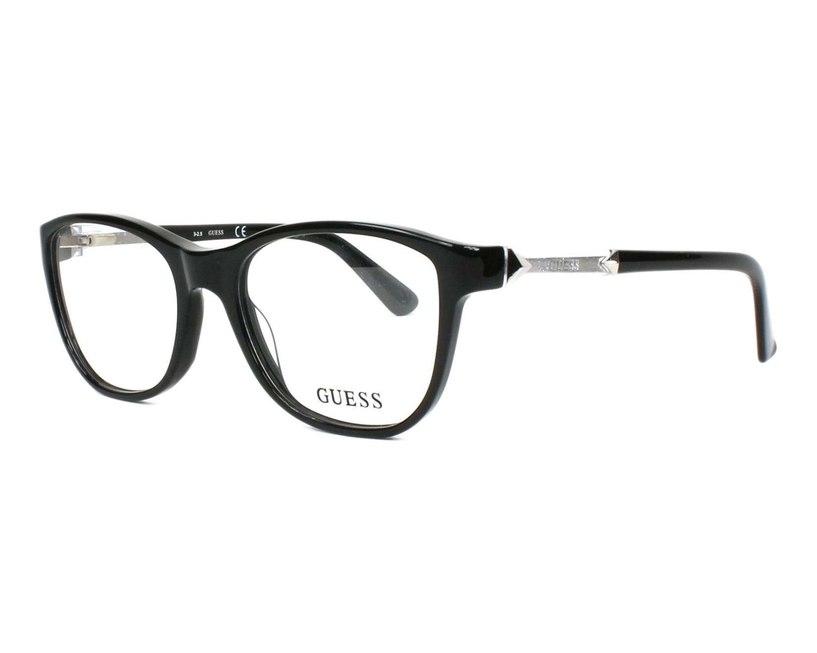 Guess Eyeglasses GU-2562 001 Black - Visionet UK