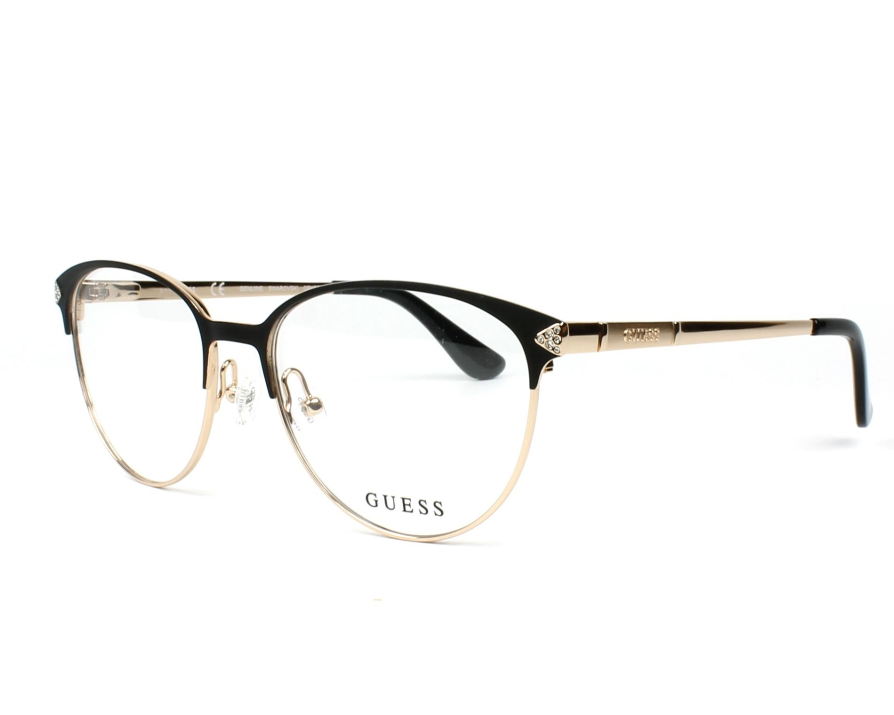 Guess Eyeglasses GU-2633-S 005 Black - Visionet UK
