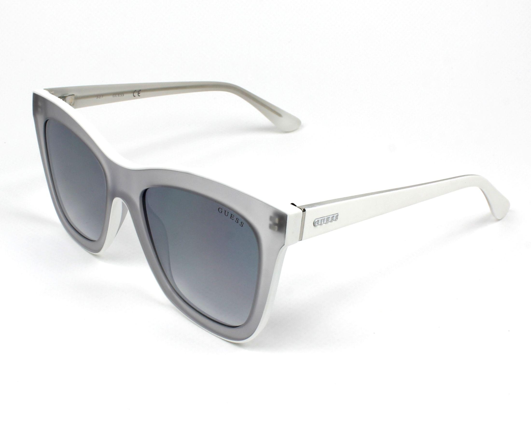 48f6572311b Sunglasses Guess GU-7526 26C 52-19 White White profile view
