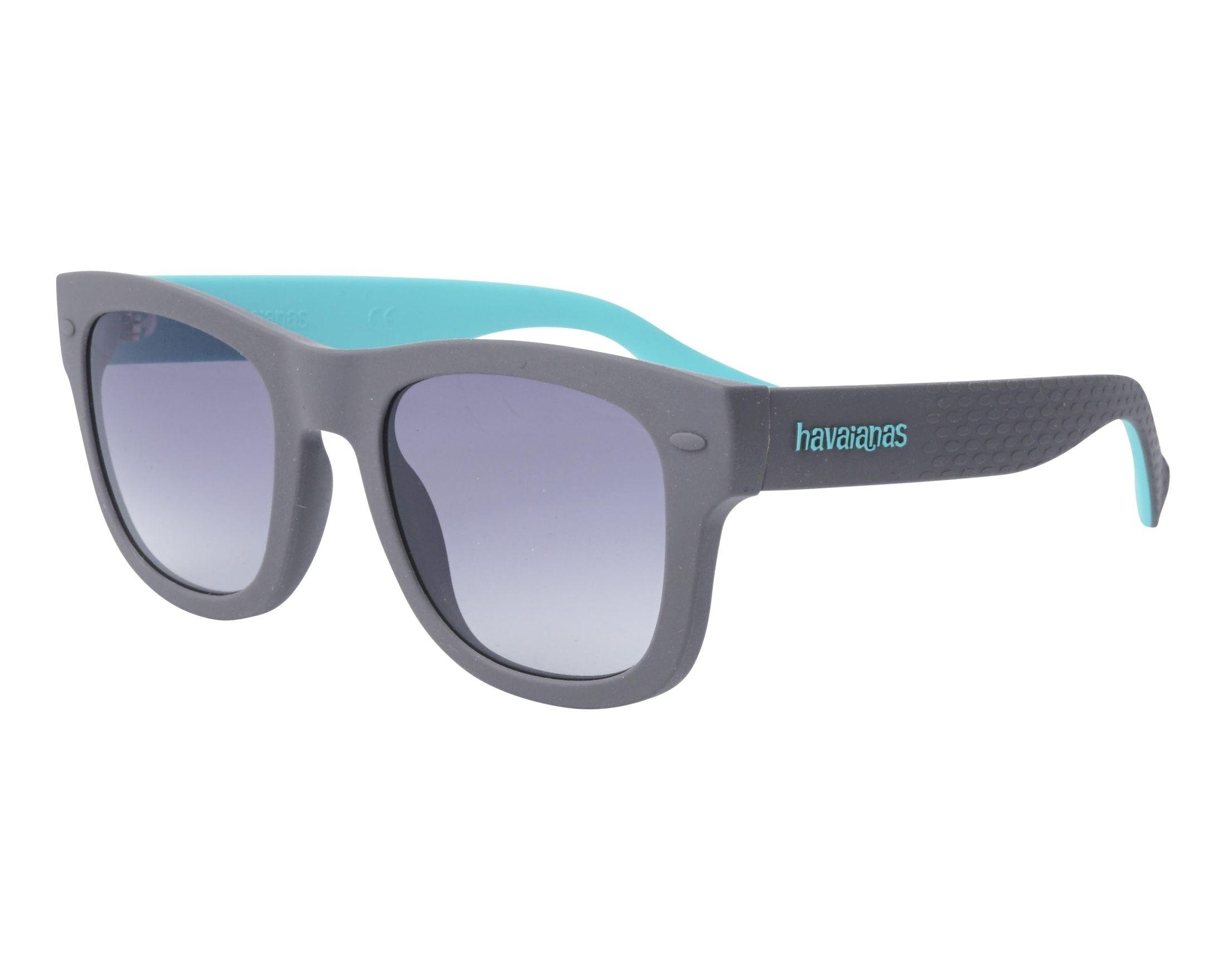 c8515c5248d30 Sunglasses Havaianas PARATY-M QKA9O 50-21 Grey Green profile view