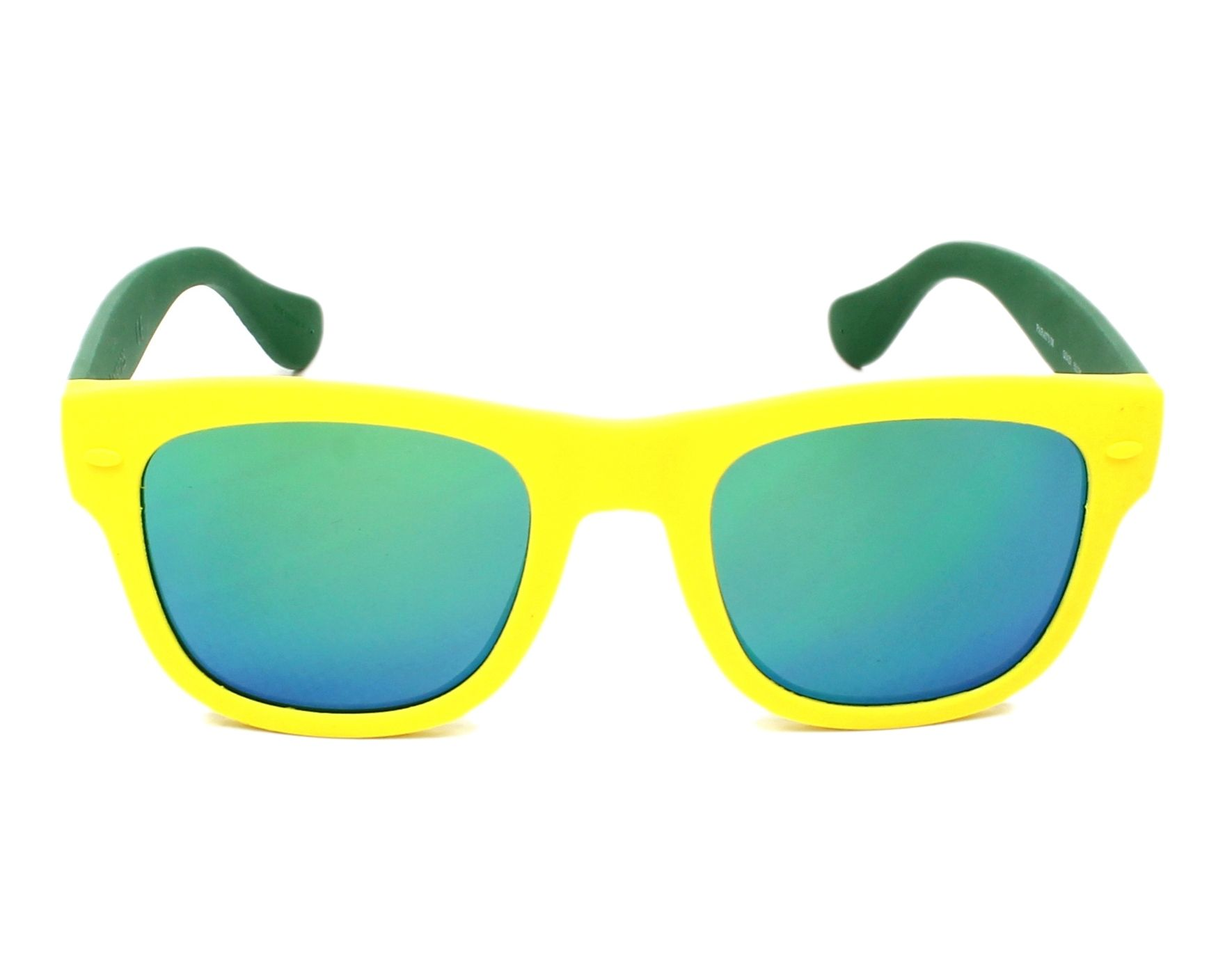 30d7711a7d9 Sunglasses Havaianas PARATY-S QSX Z9 50-21 Yellow Green front view