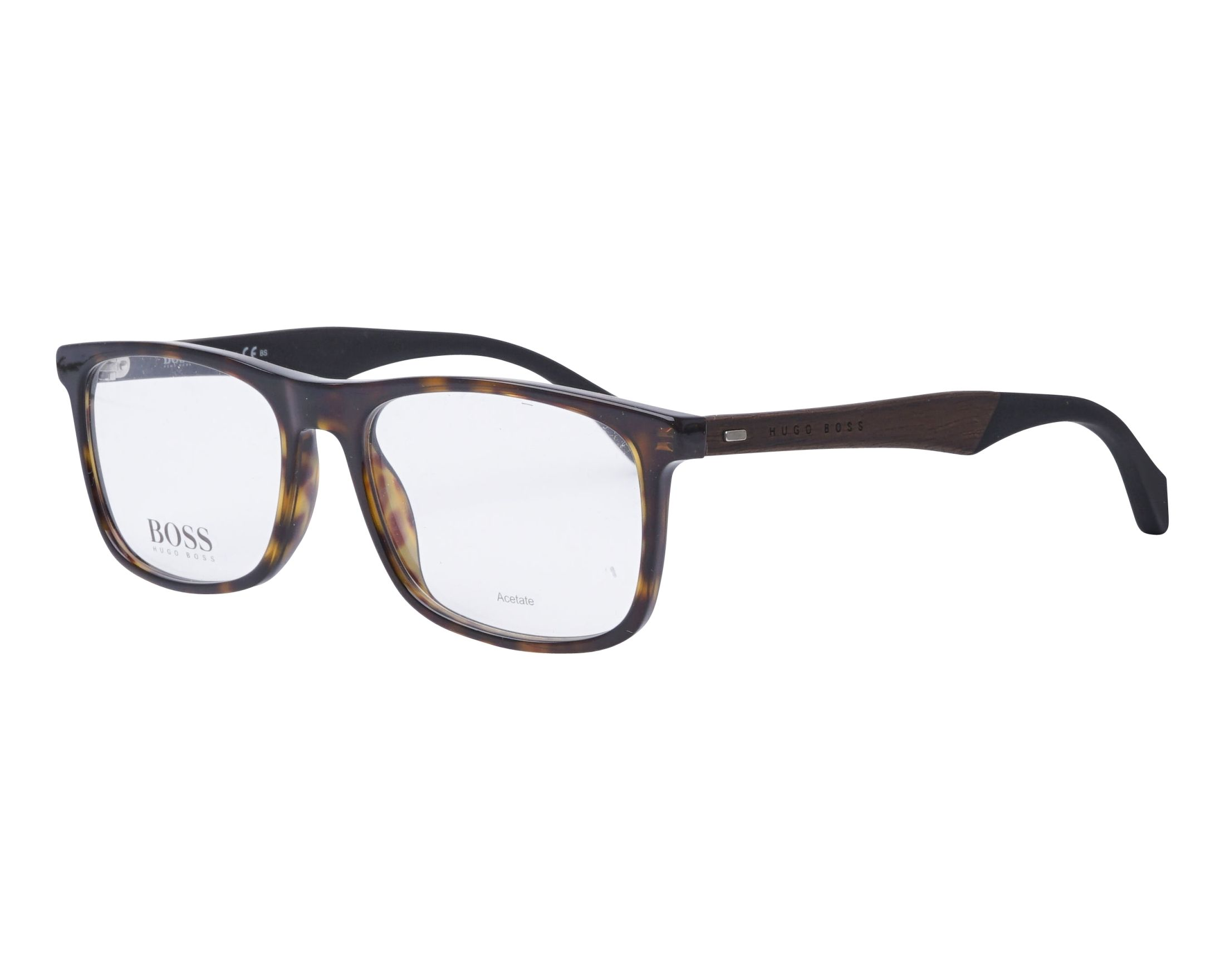Hugo Boss Eyeglasses BOSS-0779 086 Havana | visio-net.co.uk