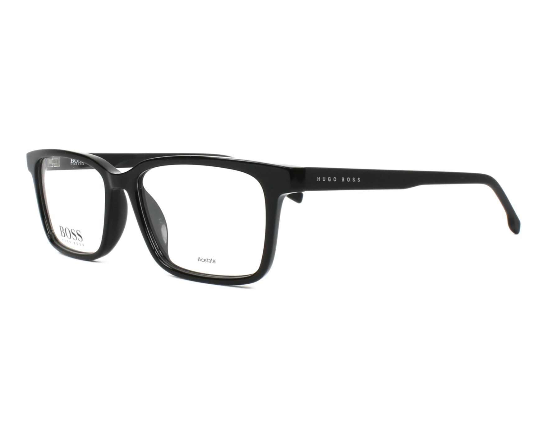 5465d962a97 eyeglasses Hugo Boss BOSS-0924 807 51-15 Black Black profile view