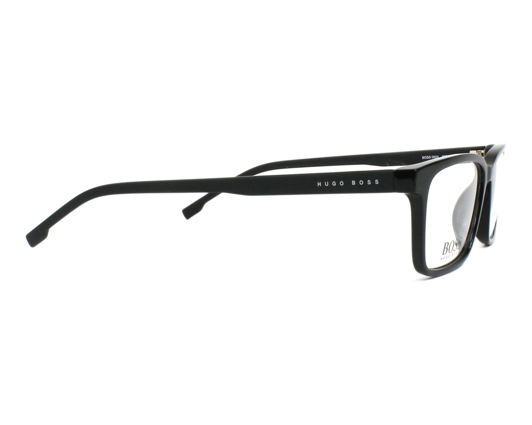 3c1774dbd4 eyeglasses Hugo Boss BOSS-0924 807 51-15 Black Black side view