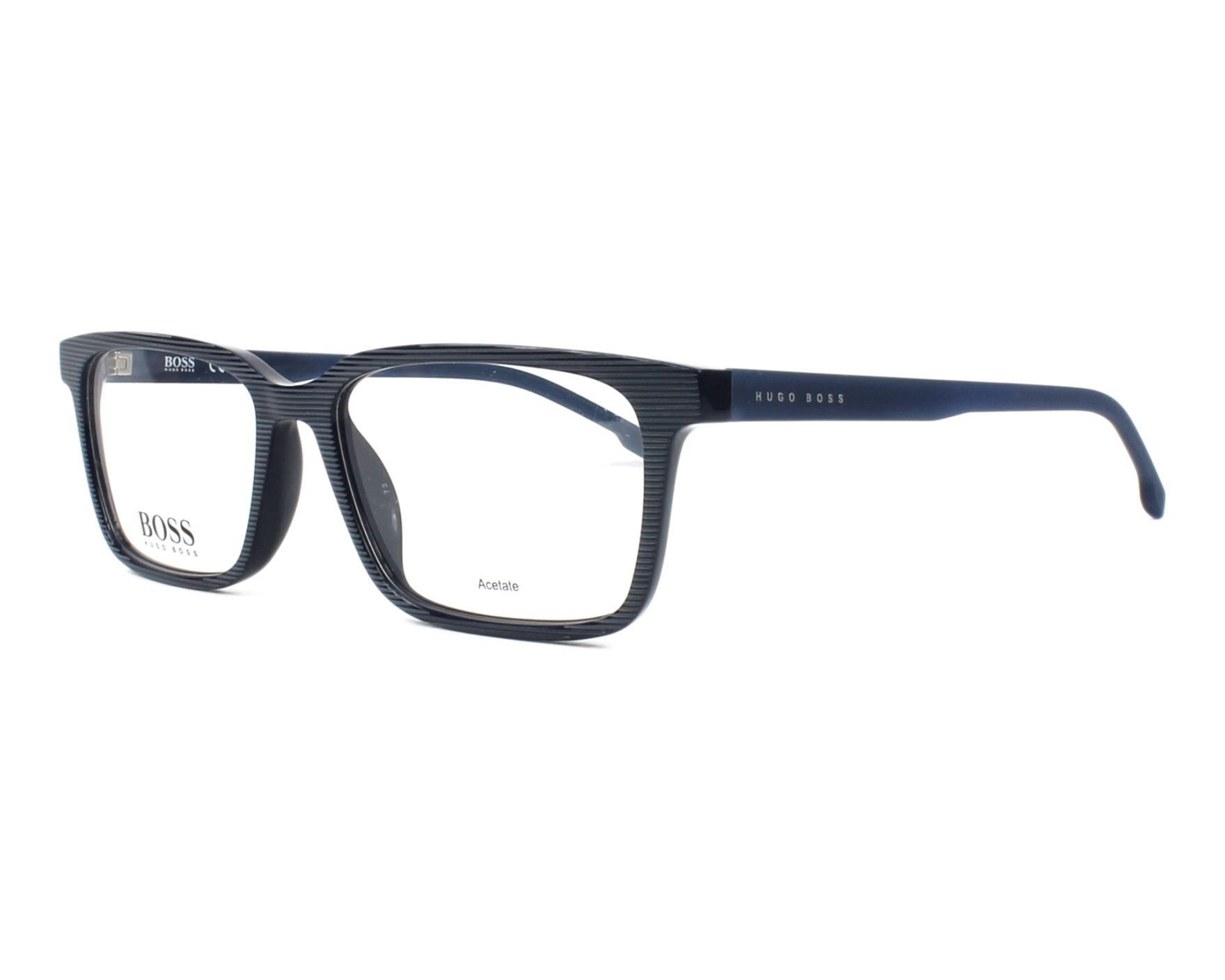 699d9b0420a6 eyeglasses Hugo Boss BOSS-0924 AVS 53-16 Blue Blue profile view