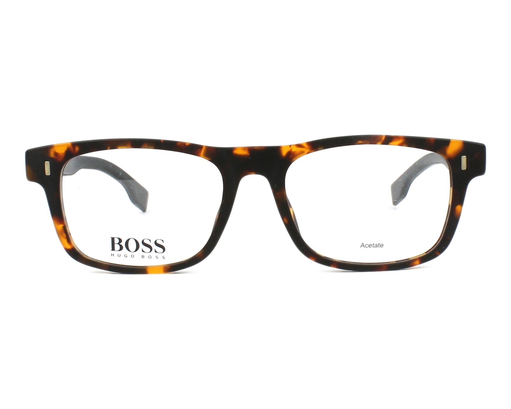 2a75fbf1bca2 eyeglasses Hugo Boss BOSS-0928 N9P 50-17 Havana Blue front view