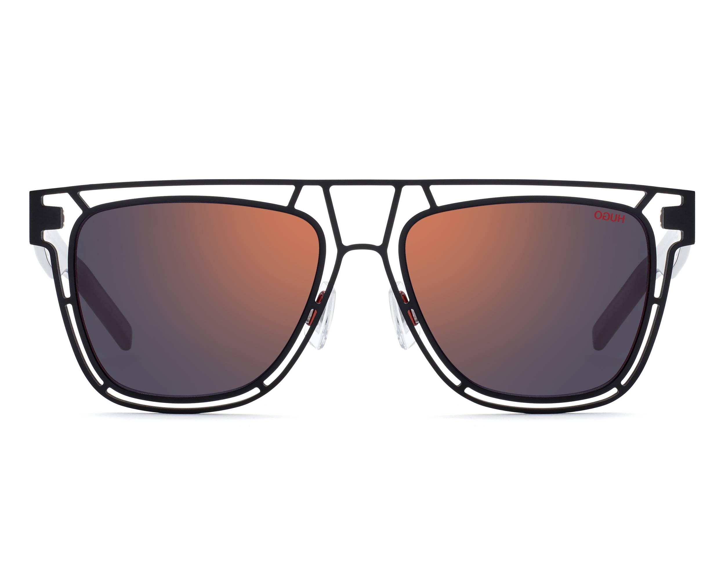 363bc5ee9bea Sunglasses Hugo Boss HG-1020-S BLXAO 55-17 Black Grey side view