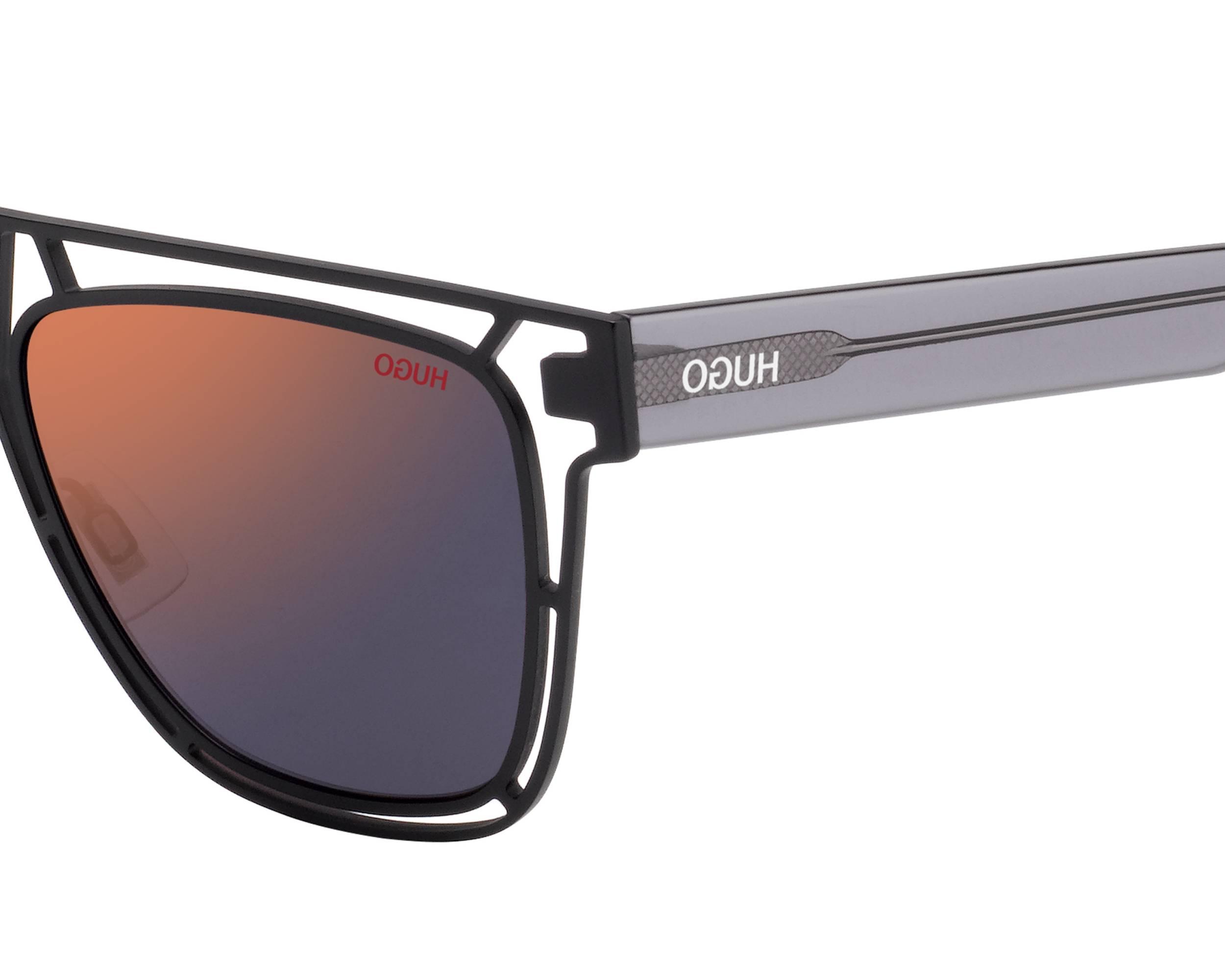 1080a12b0494 Sunglasses Hugo Boss HG-1020-S BLXAO 55-17 Black Grey other view