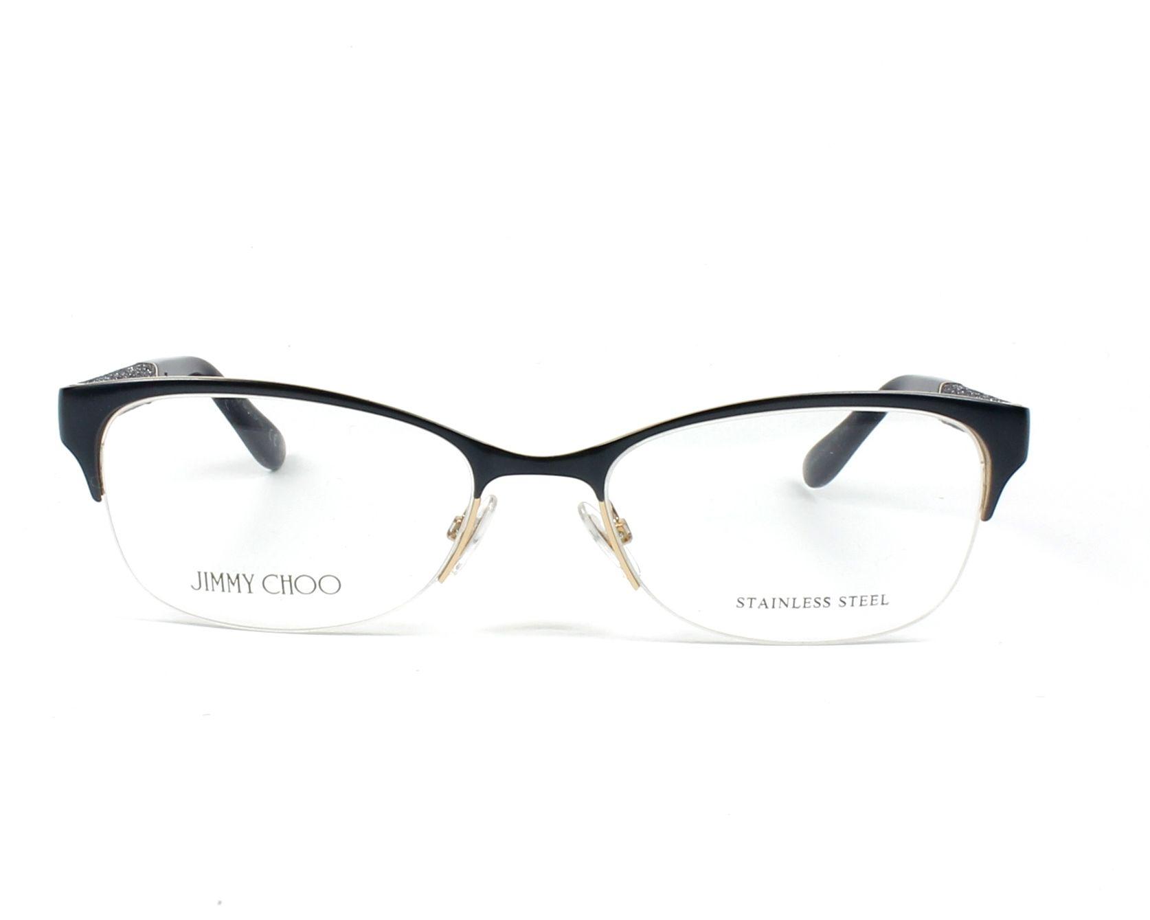 a3f55cb926 eyeglasses Jimmy Choo JC-106 F79 - Blue Grey front view