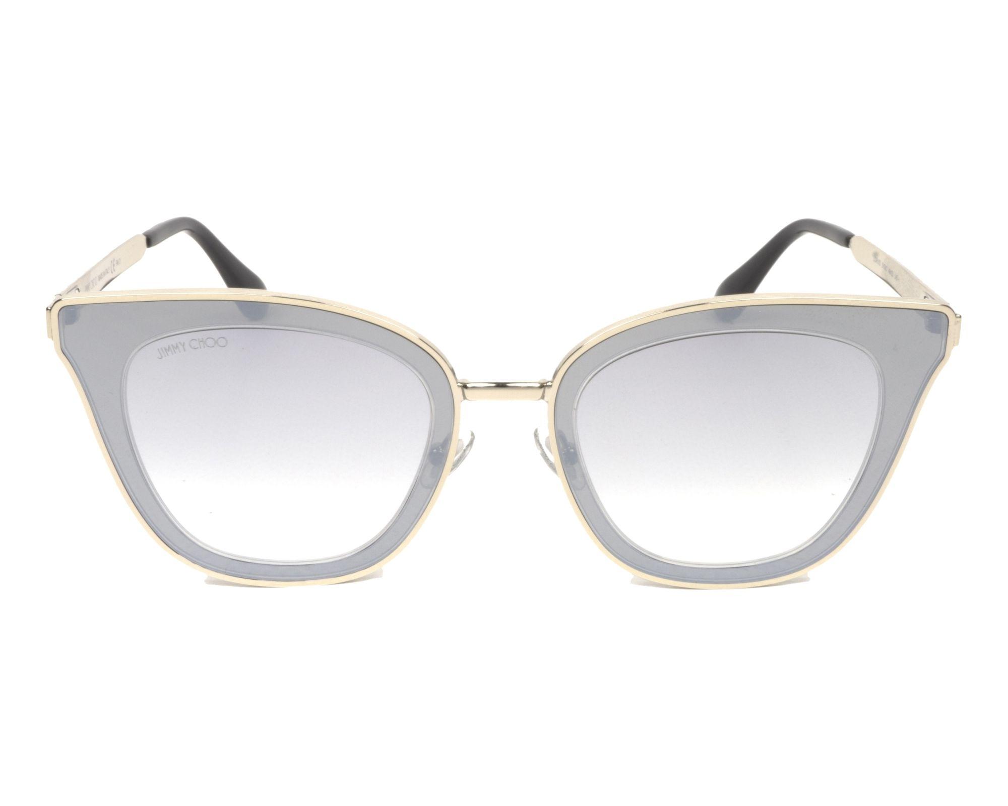 57da9faf7e4e Sunglasses Jimmy Choo LORY-S 3YG IC 49-23 Silver Silver front view