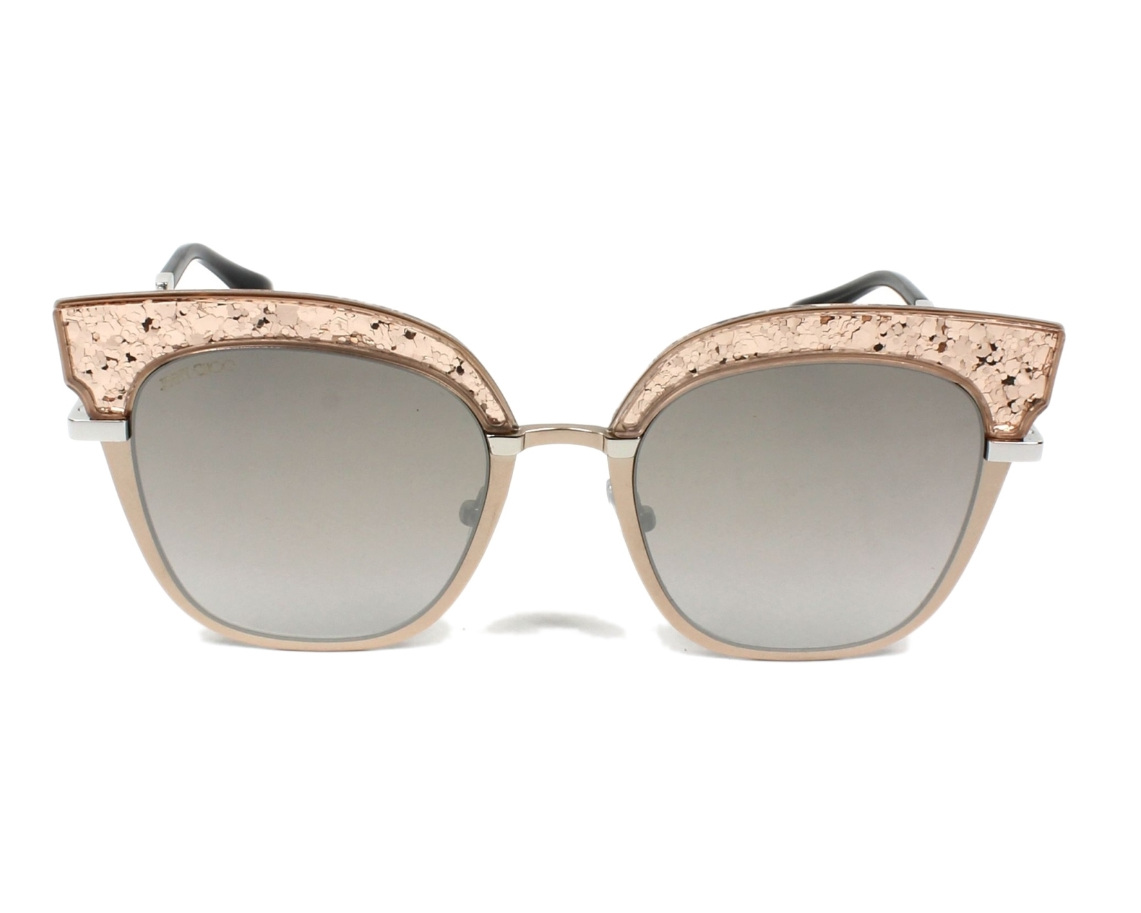6272d940be5 Sunglasses Jimmy Choo ROSY-S 68I NQ 51-20 Rose gold front view