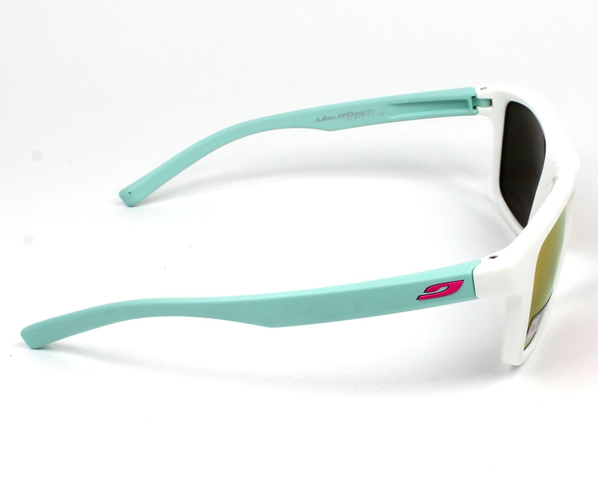 bb9b0573a6 Sunglasses Julbo J477 1110 - White Green side view