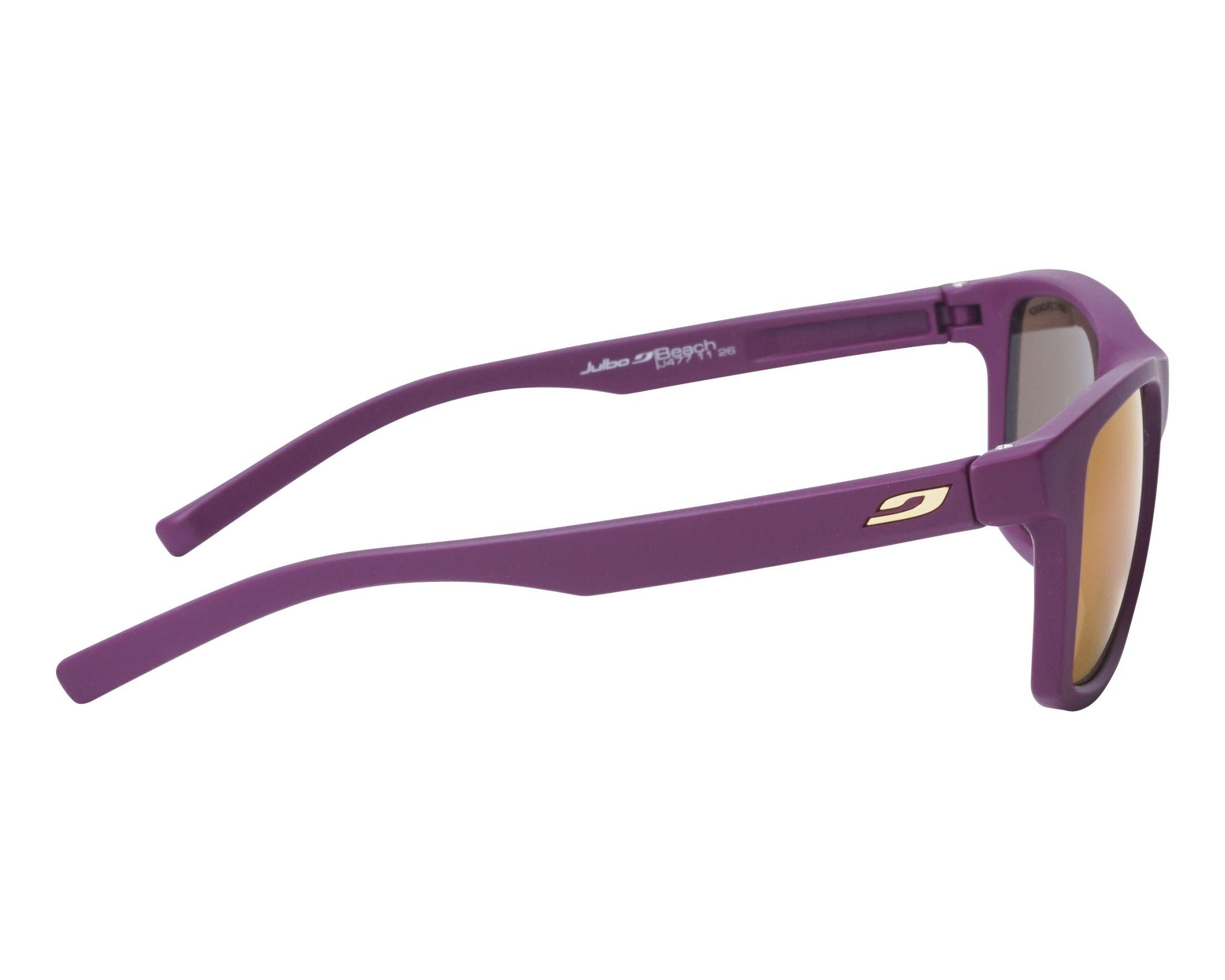 227b2a6b88 thumbnail Sunglasses Julbo J477 1126 50-19 Purple side view