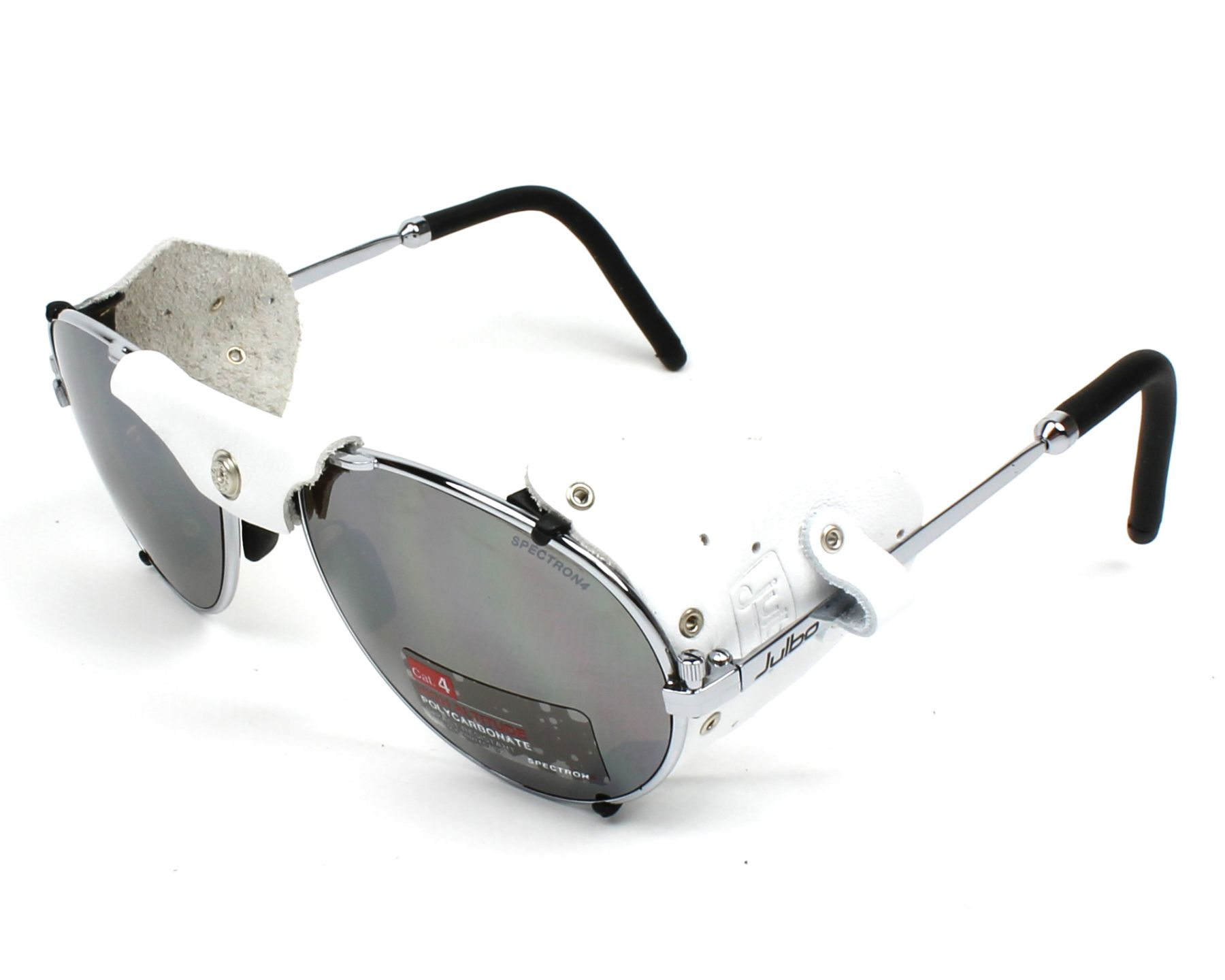 82ef333573 Sunglasses Julbo J020 1221 58-19 Gun White profile view