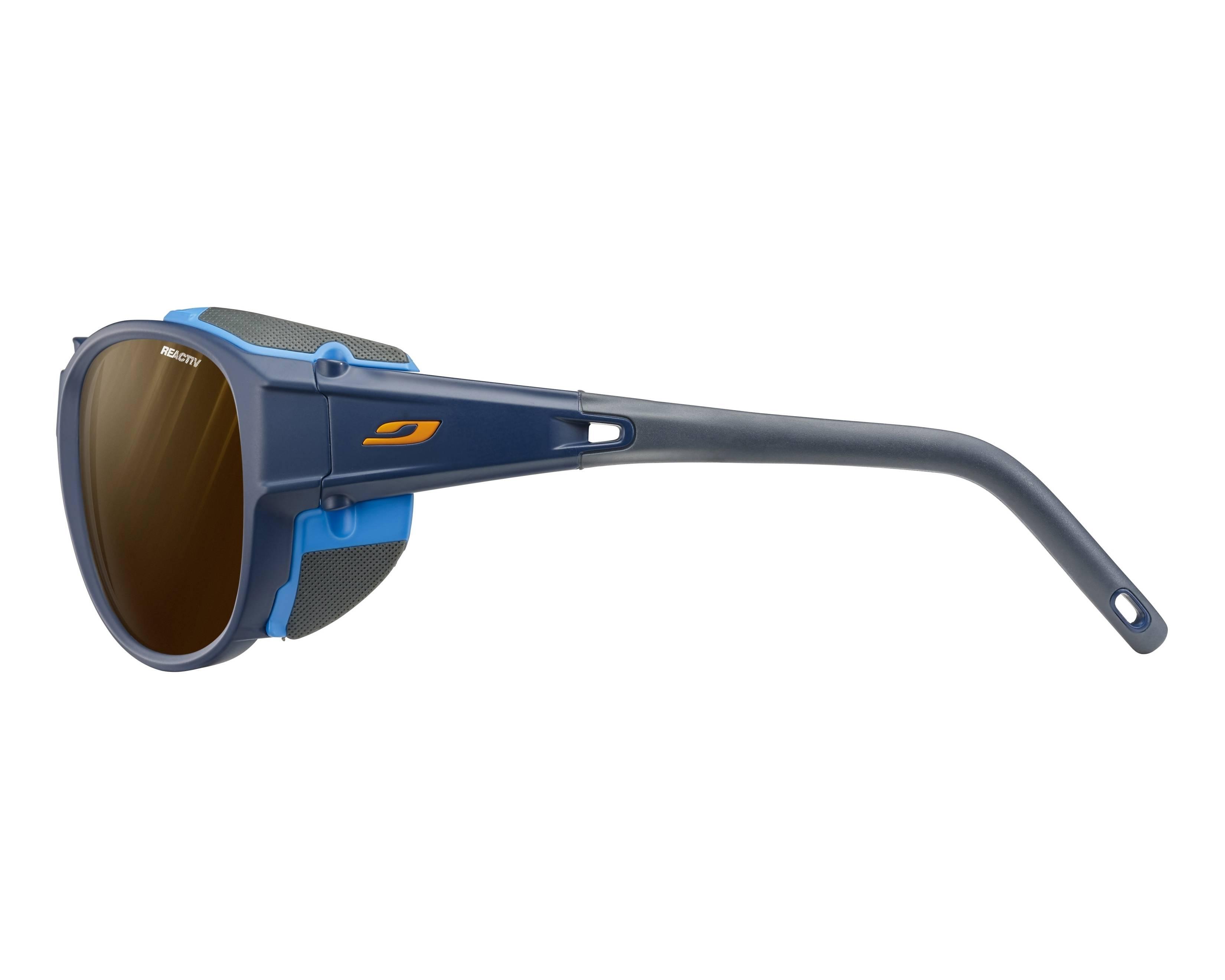 af5526ce5187 Sunglasses Julbo J497 5012 61-11 Blue Blue side view