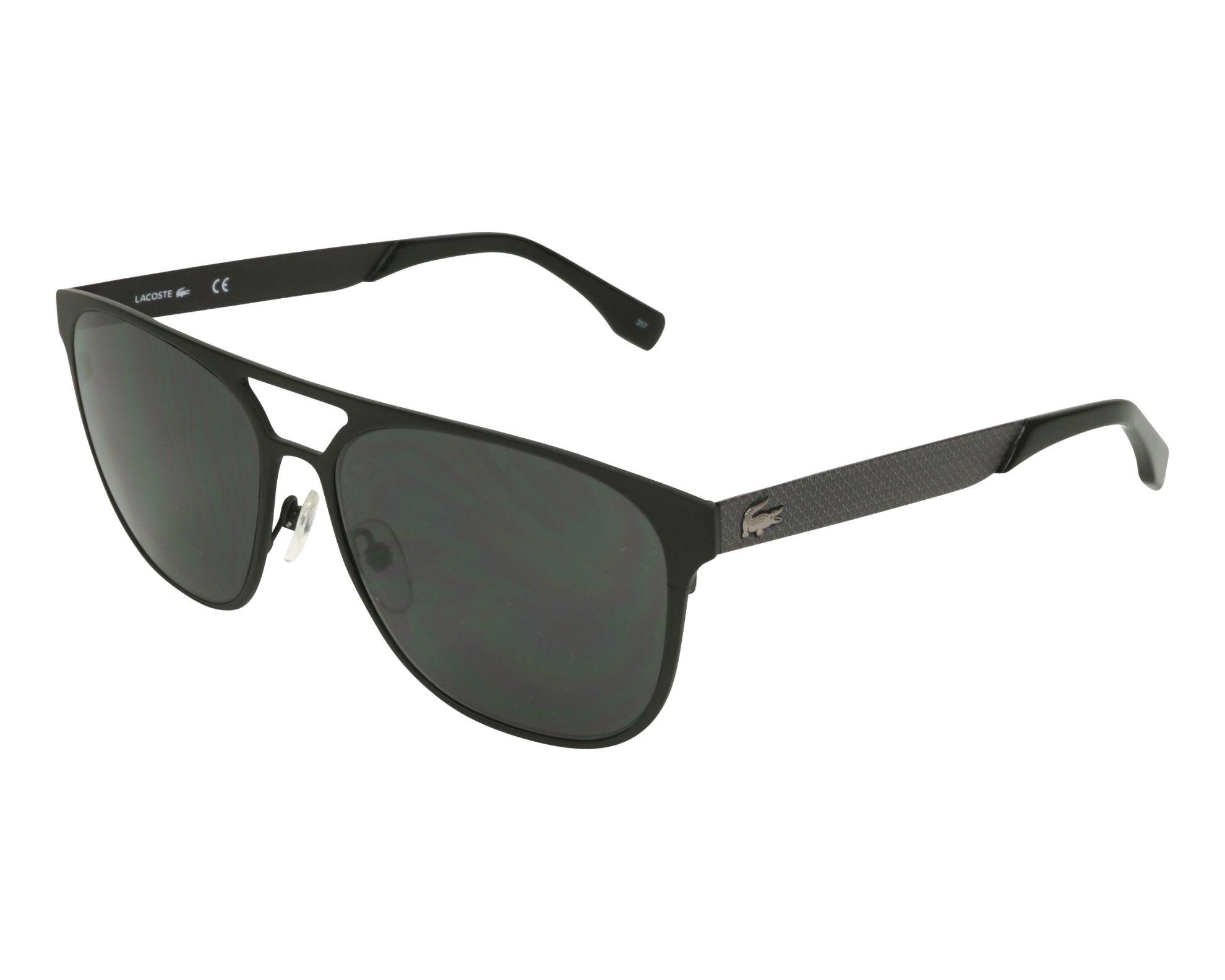 a7f1f5ce183 Sunglasses Lacoste L-187-S 001 - Black Grey profile view