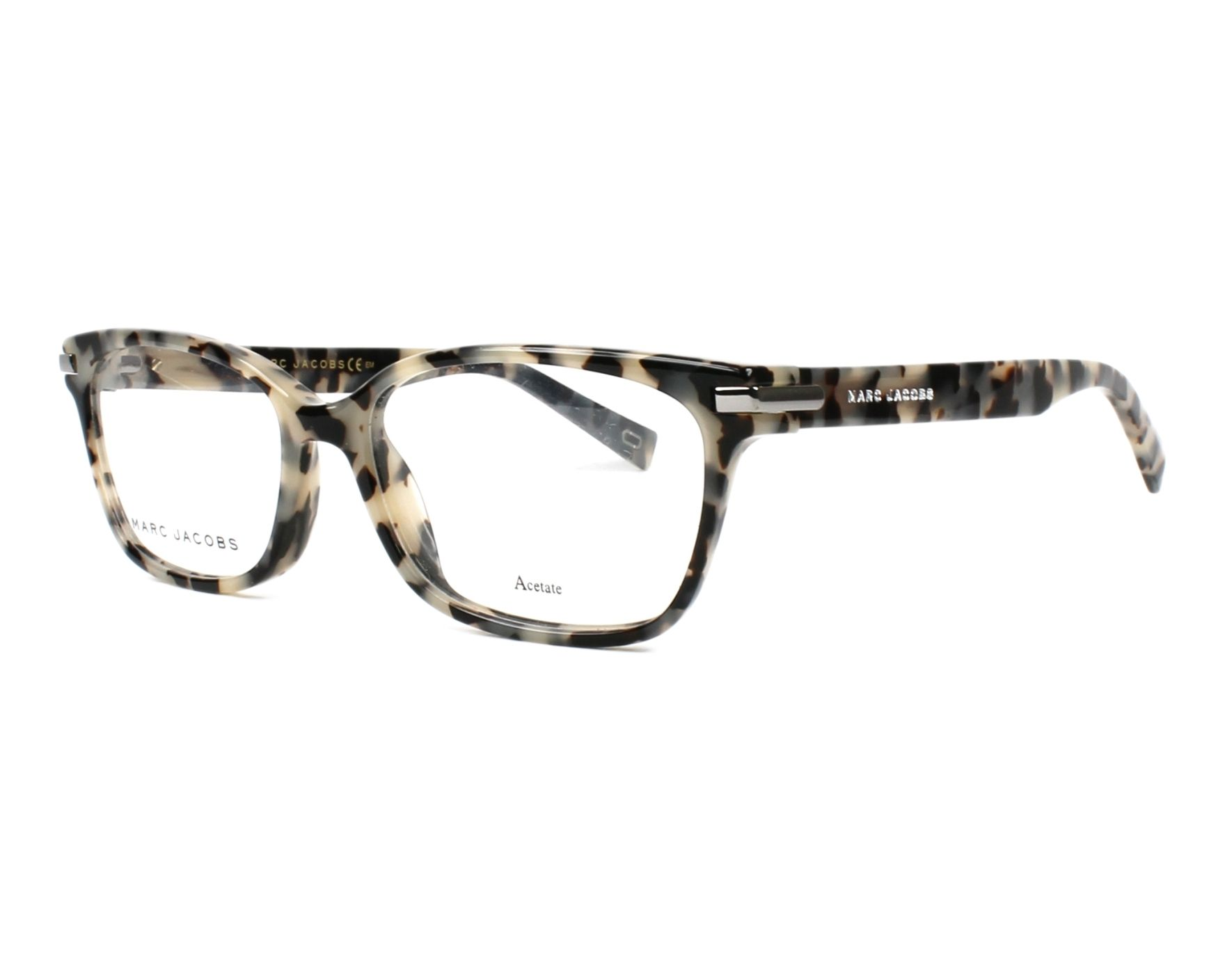 45ac1f6b2b9 eyeglasses Marc Jacobs MARC-190 AHF 53-16 Beige Brown profile view