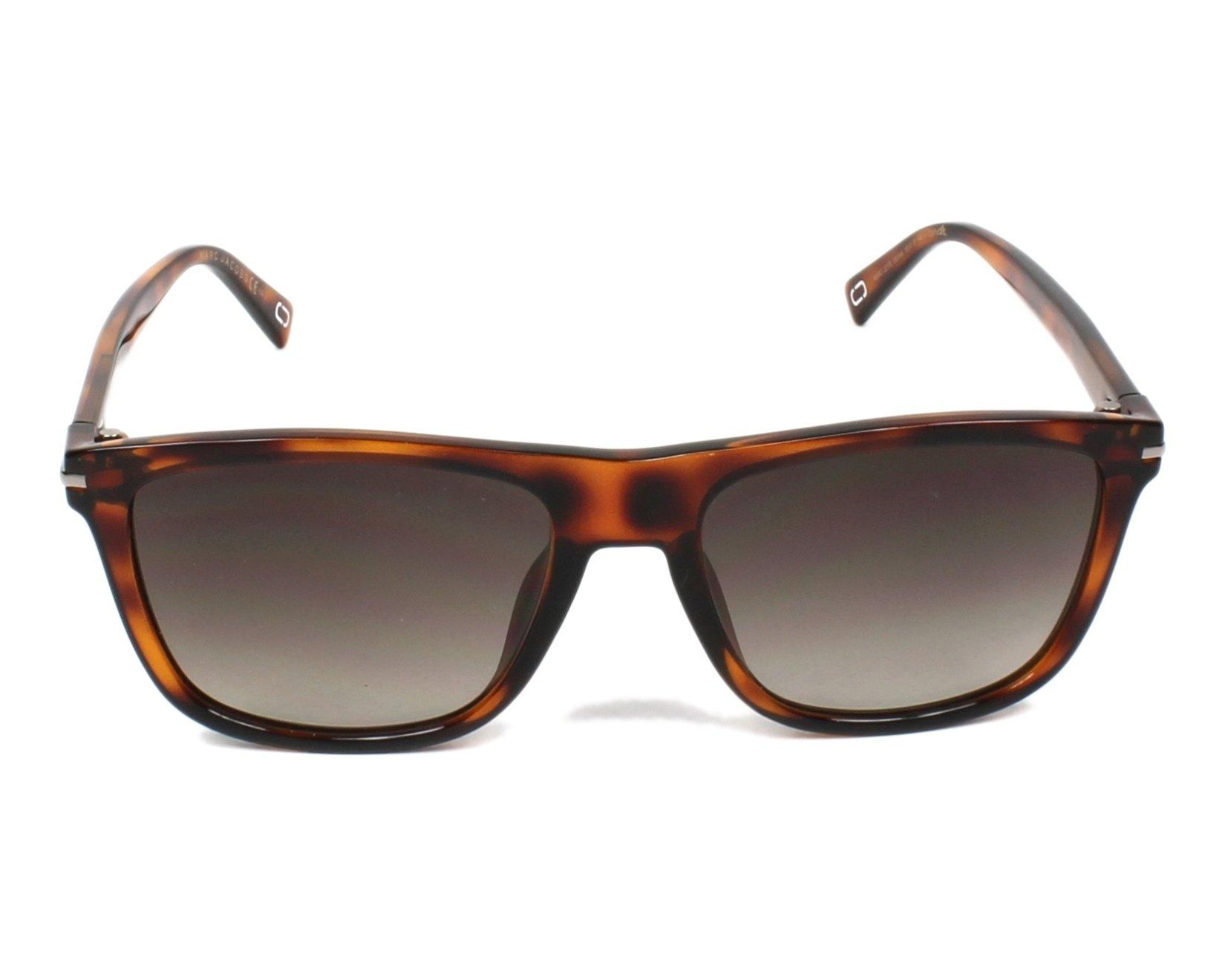 Sunglasses Marc Jacobs MARC-221-S 581 HA 55-18 Havana front 54c6eca92ece