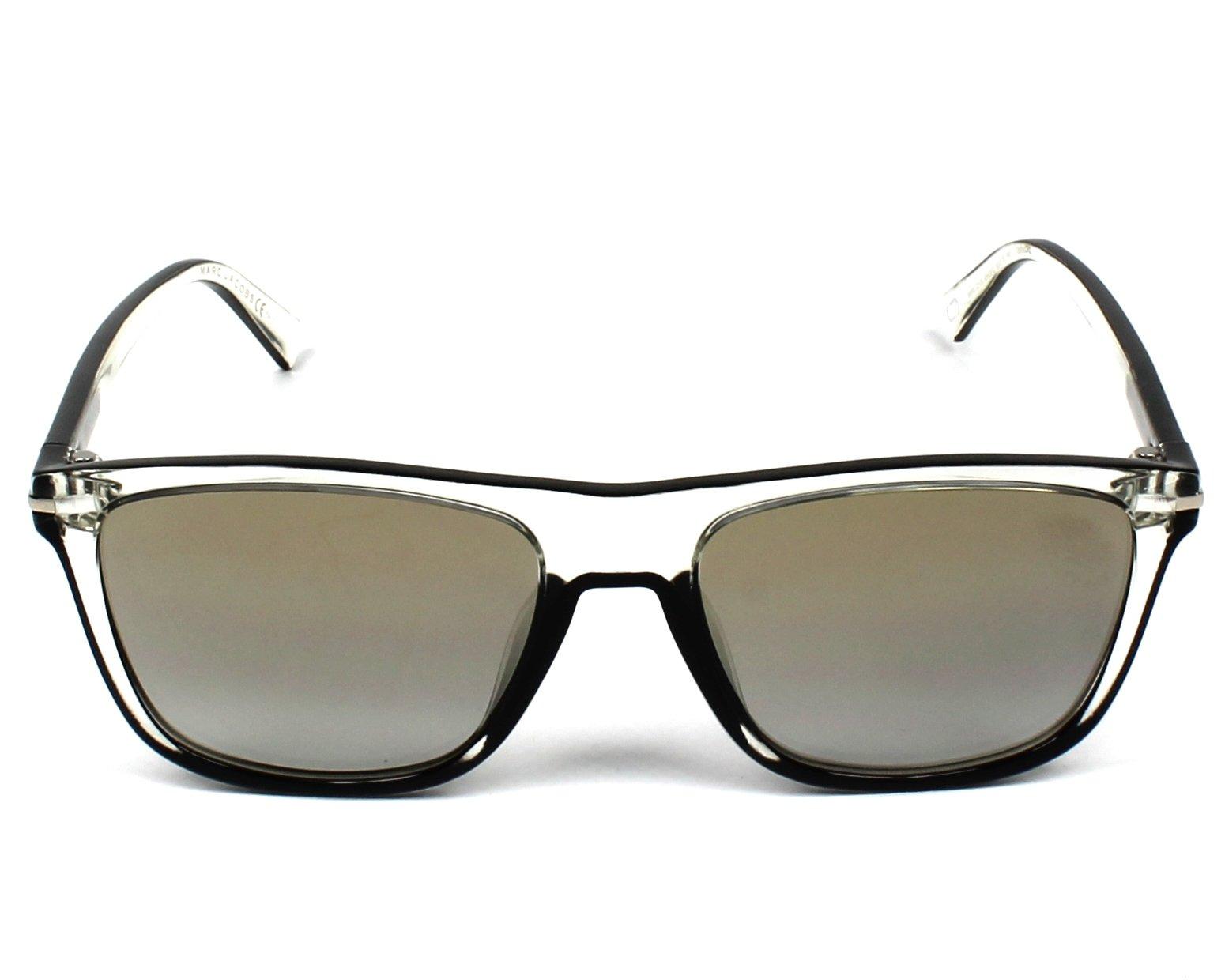 Sunglasses Marc Jacobs MARC-221-S MNG FQ 55-18 Crystal Black 2c17d158d25e