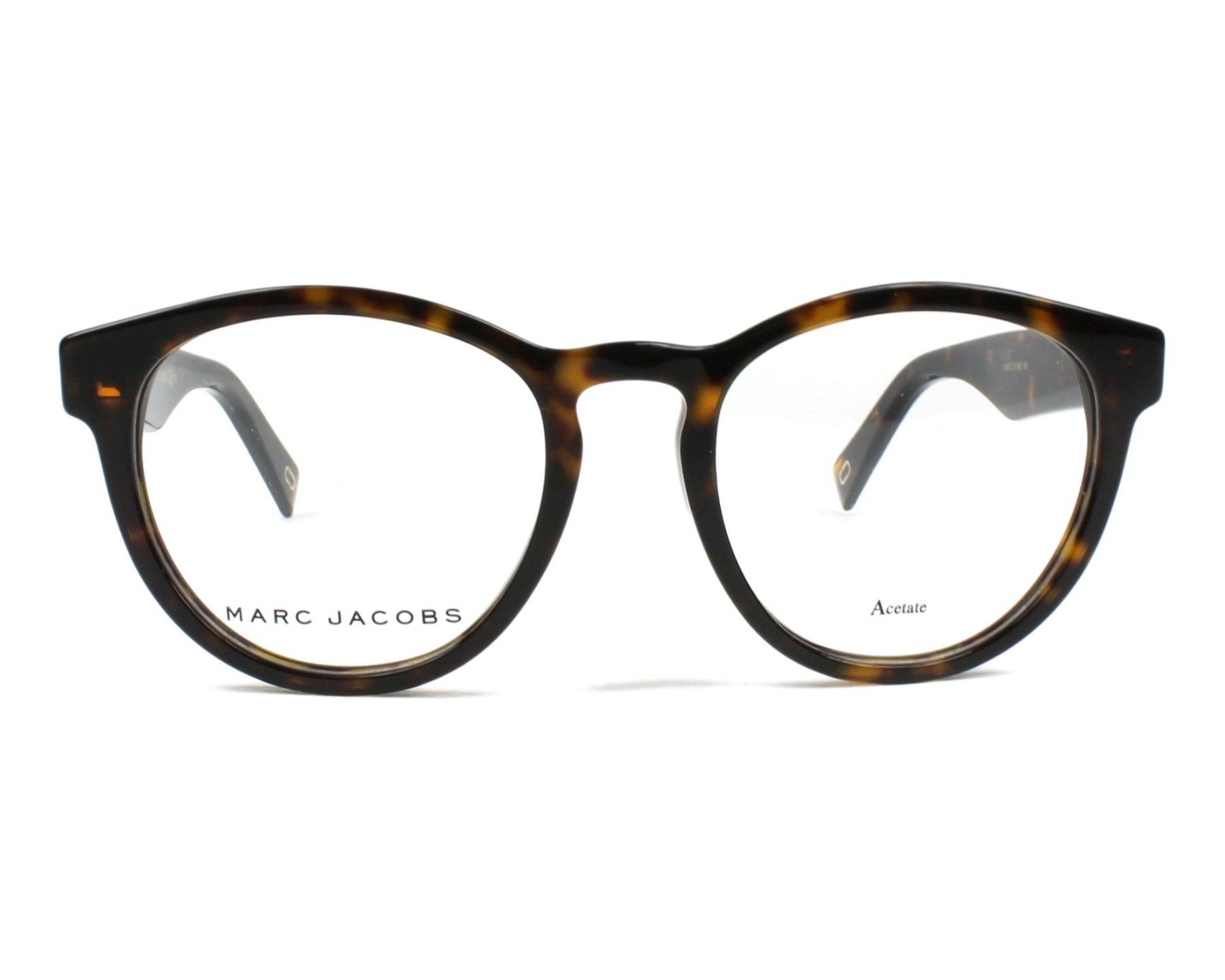 cd85029ef1c5 eyeglasses Marc Jacobs MARC-237 086 - Havana front view