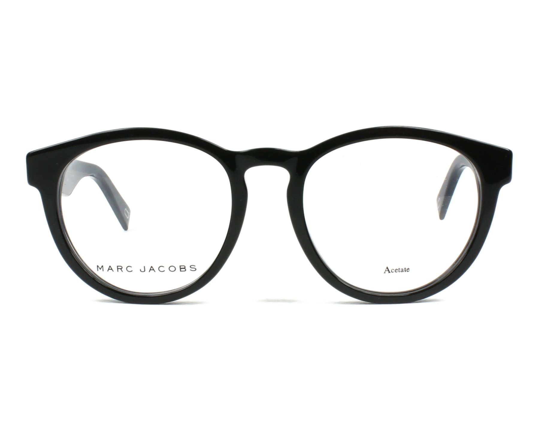 906a94083cf7 eyeglasses Marc Jacobs MARC-237 807 - Black front view