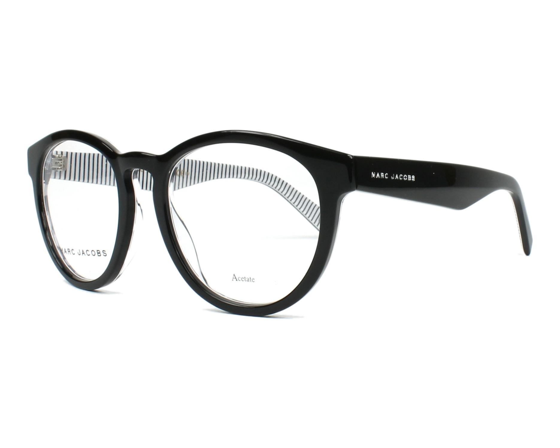 14879b34cad5 eyeglasses Marc Jacobs MARC-237 M4P - Black Zebra profile view