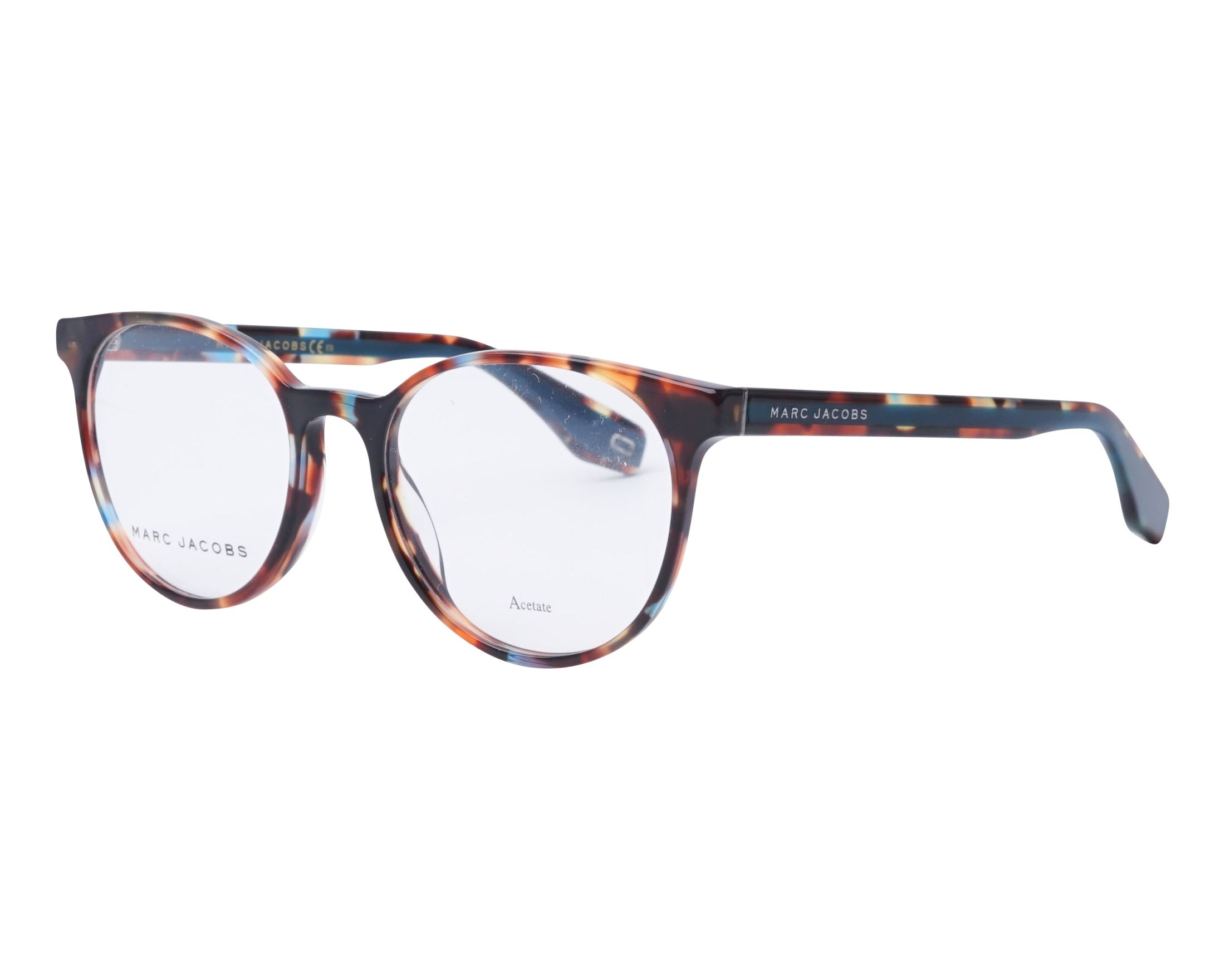 d9a2e7f0384 eyeglasses Marc Jacobs MARC-283 FZL 52-18 Mix Turquoise profile view