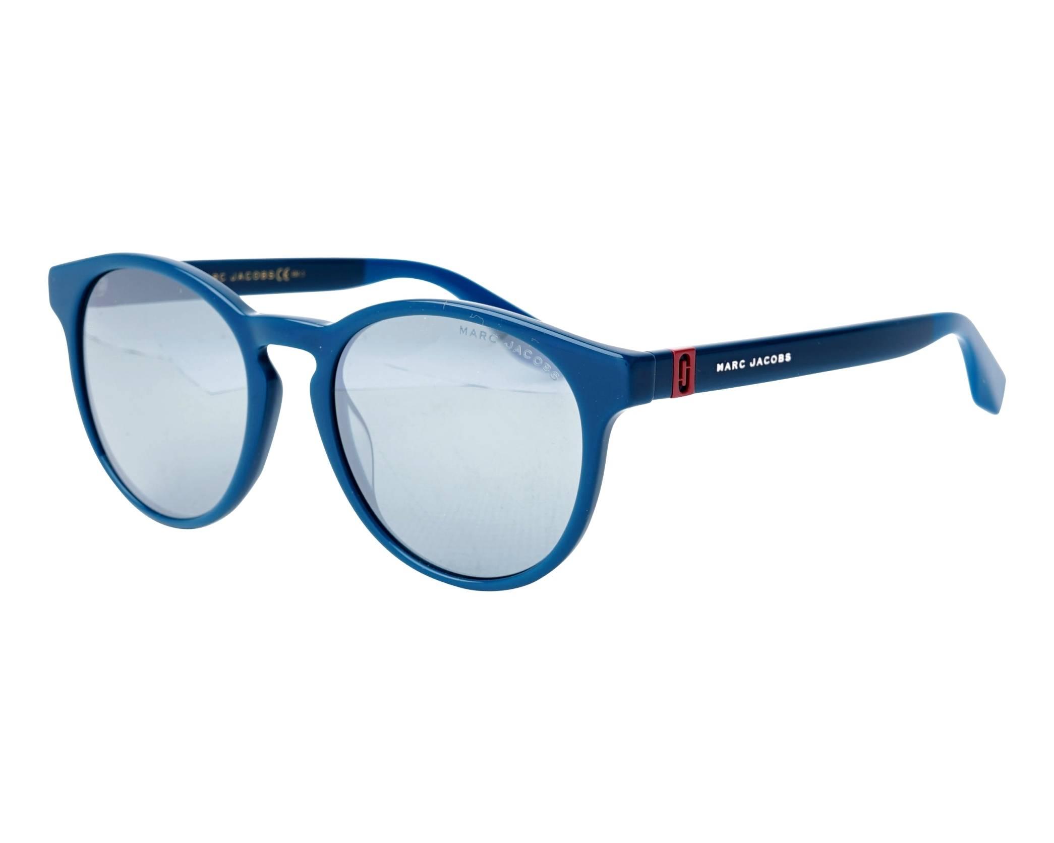 5e658ef7832 Sunglasses Marc Jacobs MARC-351-S ZI9T4 52-19 Green profile view