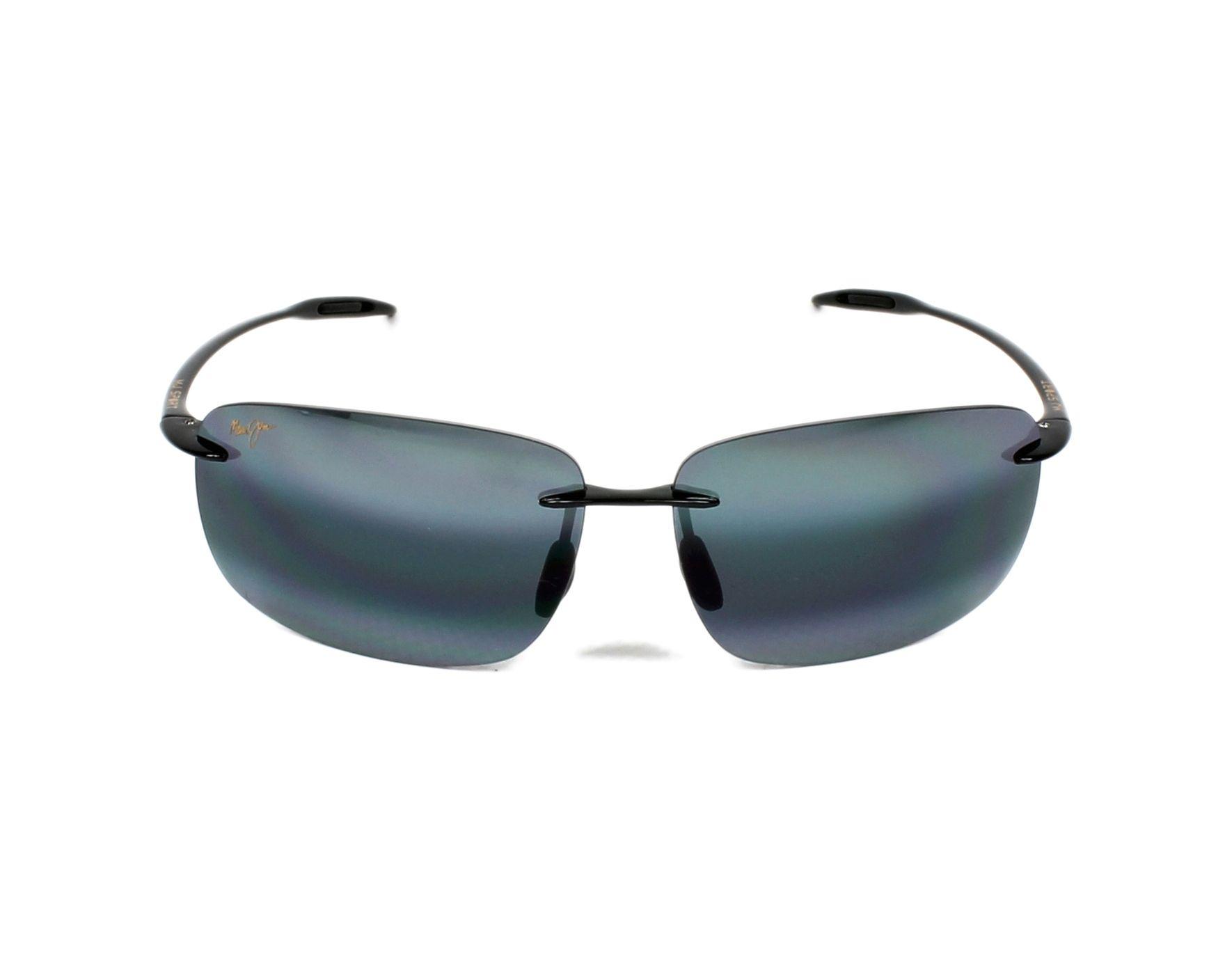 64e1f7a72674 Sunglasses Maui Jim 422 02 63-13 Black front view