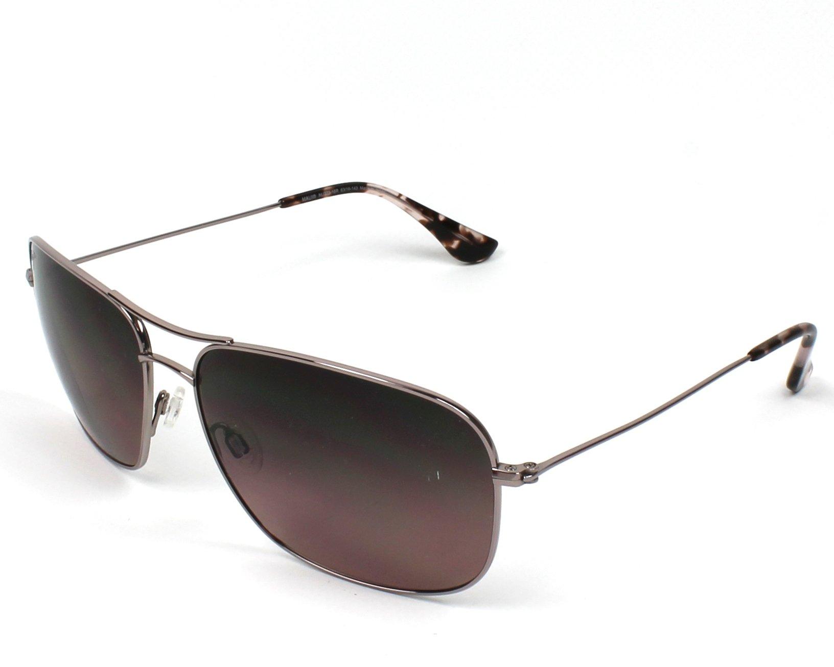 a3886cd3676 Polarized. Sunglasses Maui Jim RS-773 16R - Silver profile view