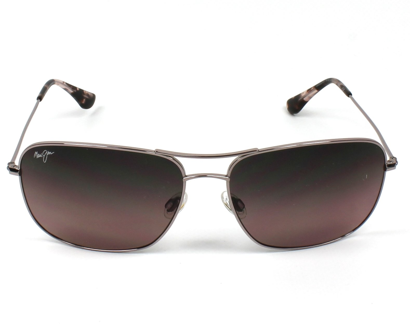 8a18f996aaa Sunglasses Maui Jim RS-773 16R - Silver front view