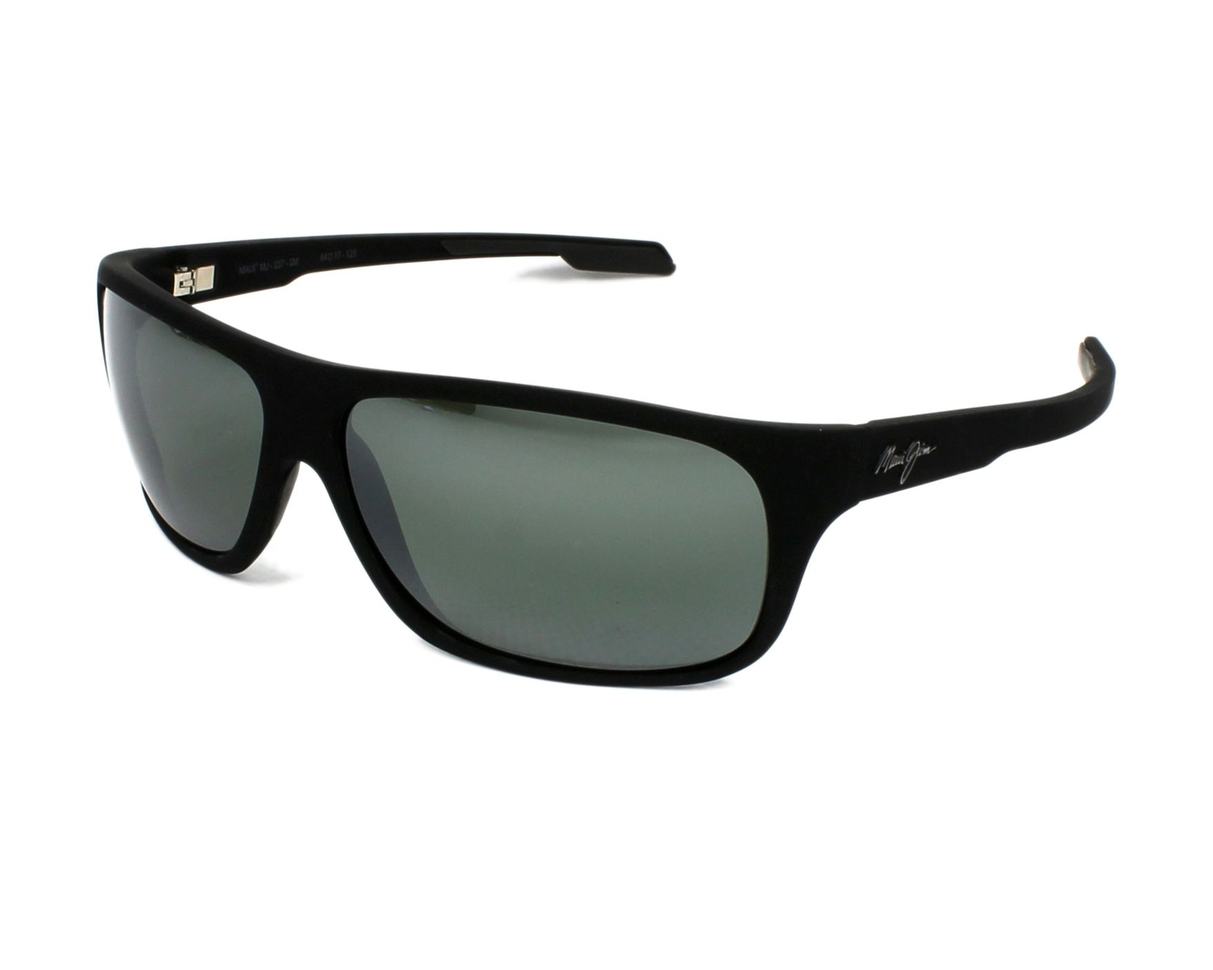 ec8681e6059 Sunglasses Maui Jim 237 2M 64-17 Black profile view