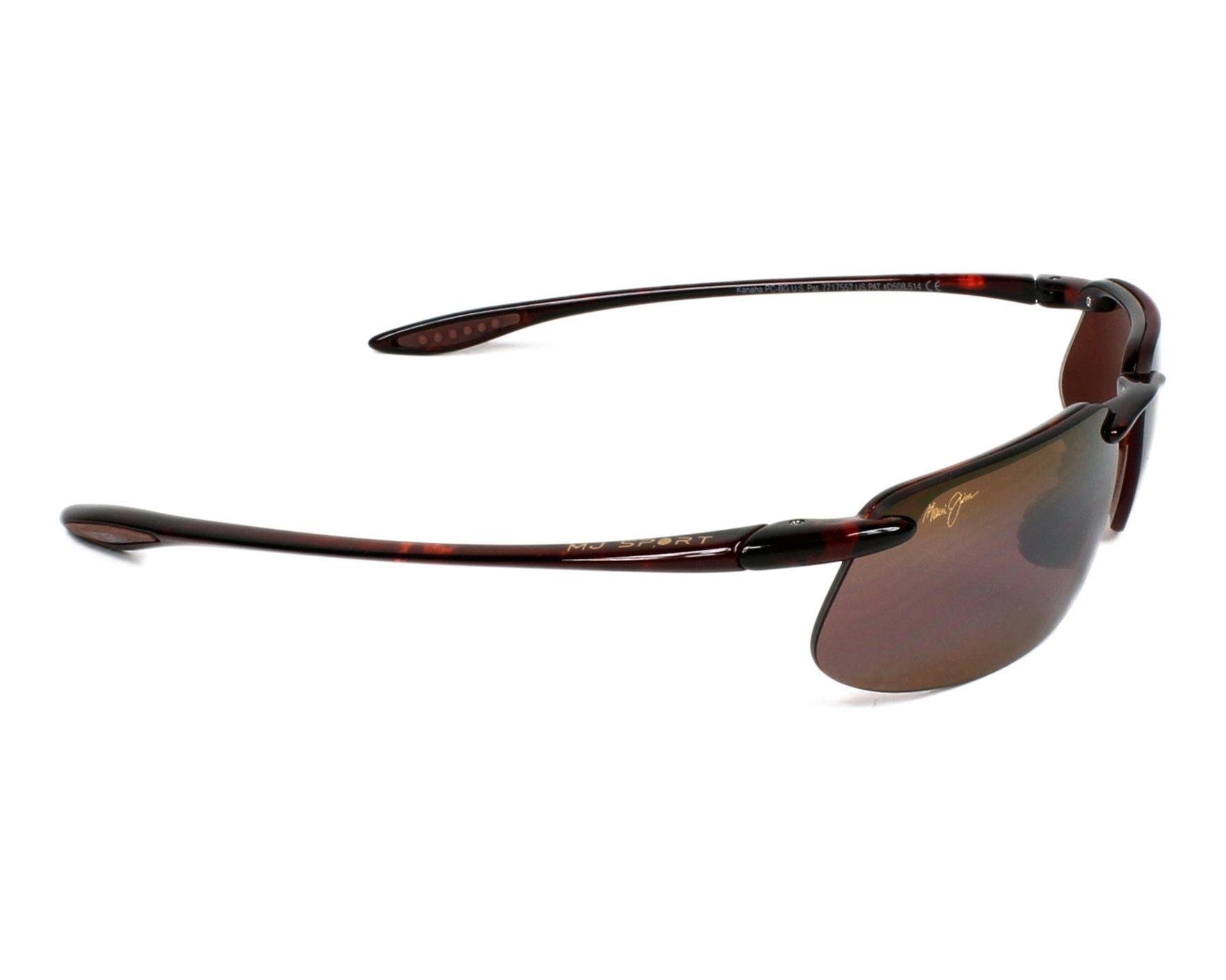 3ee414424e Sunglasses Maui Jim H-409 10 61-15 Havana side view