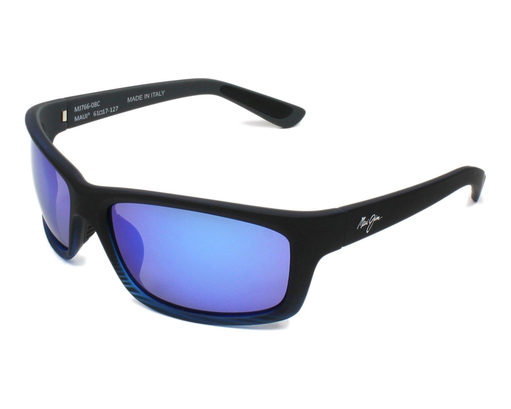 f0db6841d0 thumbnail Sunglasses Maui Jim B-766 08C 61-17 Black profile view