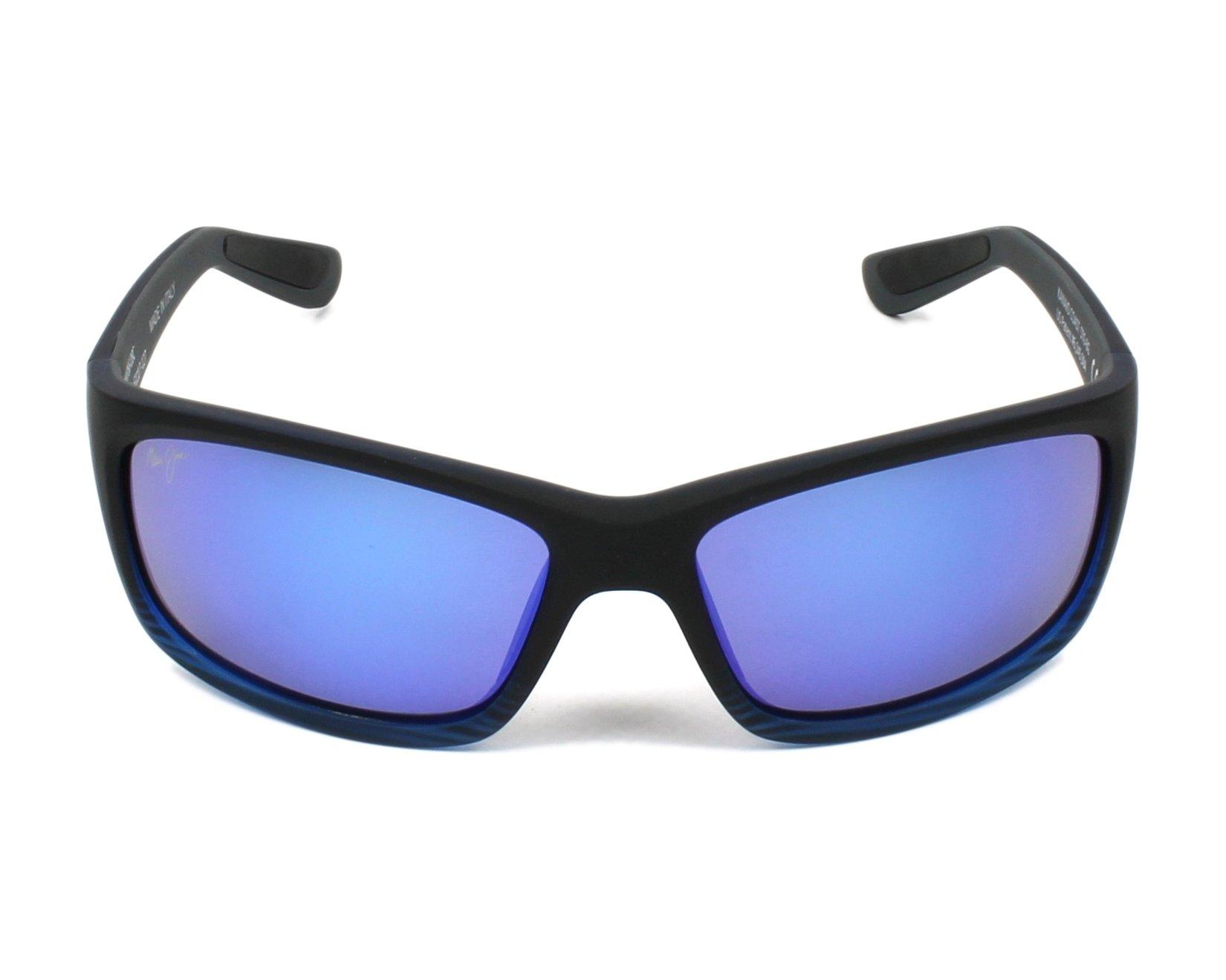 efd82fc96b Sunglasses Maui Jim B-766 08C 61-17 Black front view