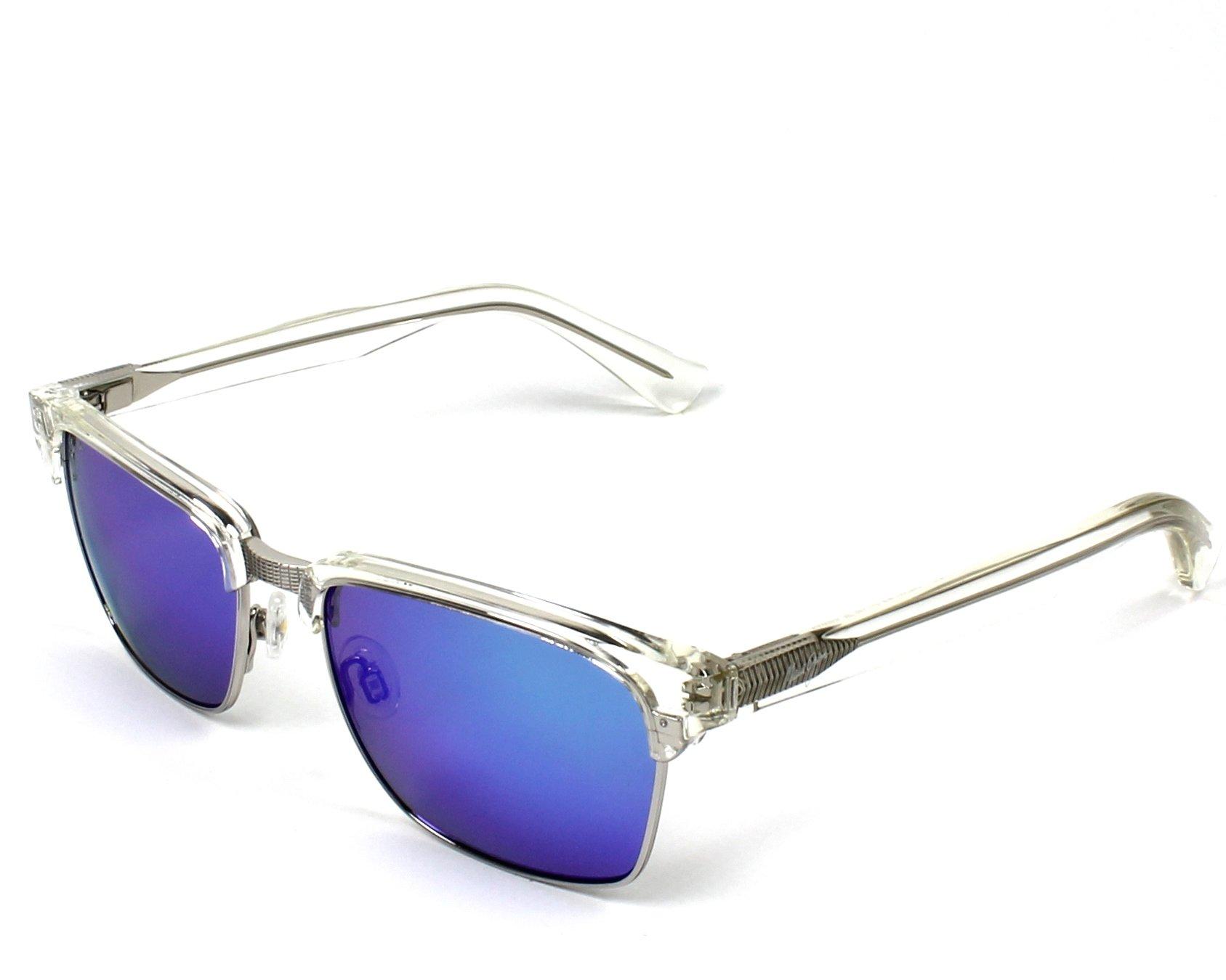 90c64a4c9b9 Sunglasses Maui Jim B-257 05CR - Silver Crystal profile view