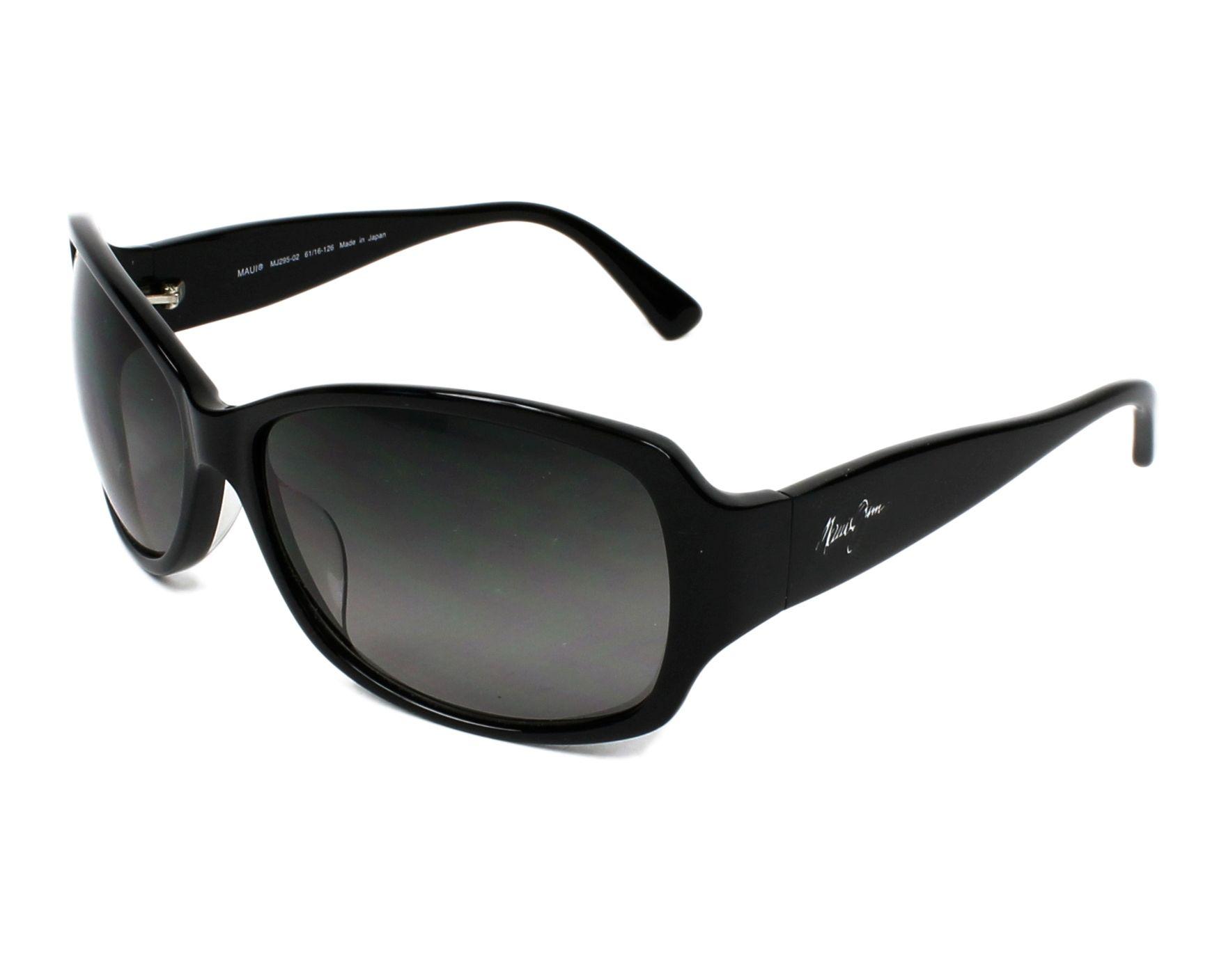 fa969f047d2a Sunglasses Maui Jim GS-295 02 - Black profile view