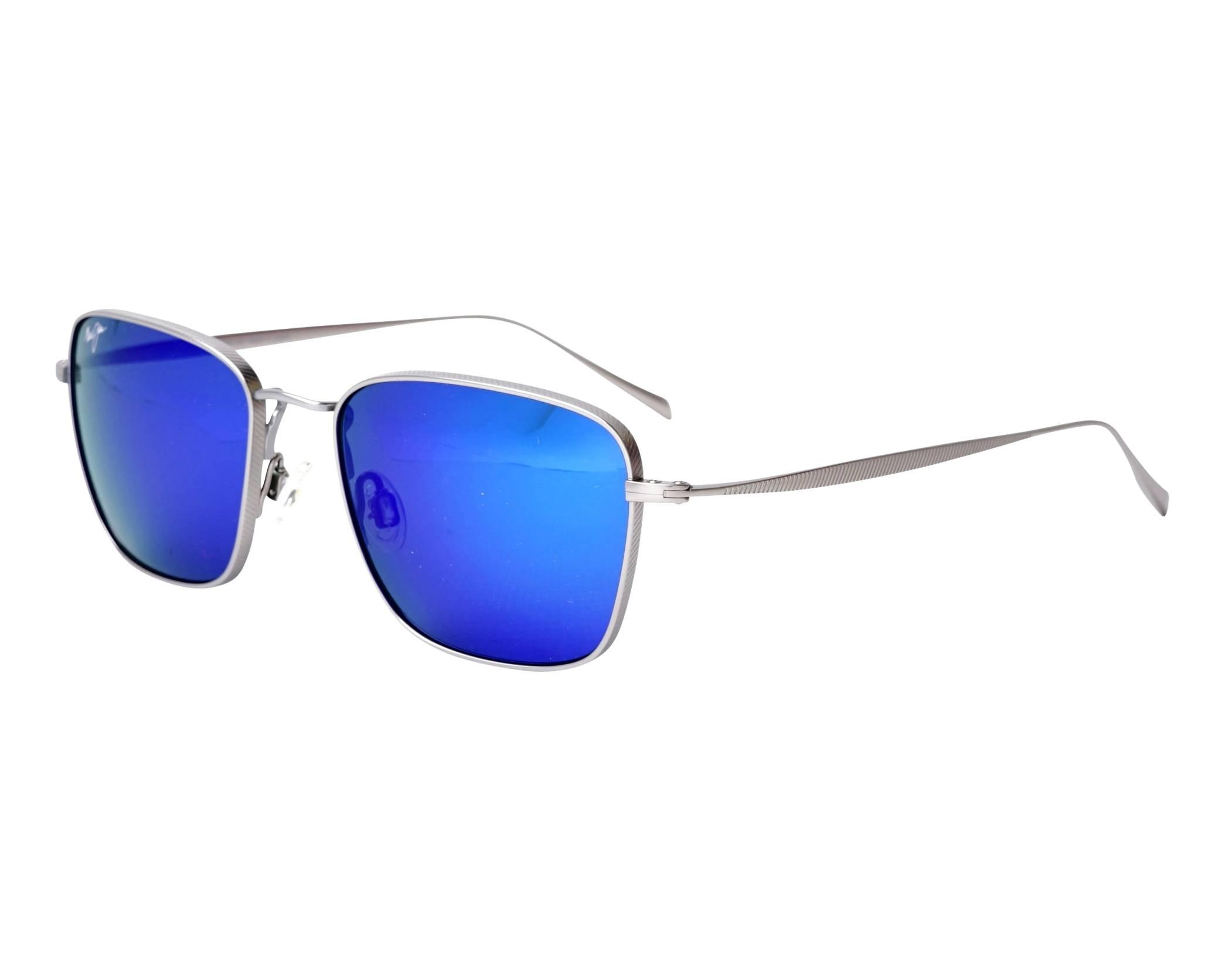 5d958aa6dea05 Sunglasses Maui Jim SPINNAKER B-545-11B 54-19 Ruthenium profile view