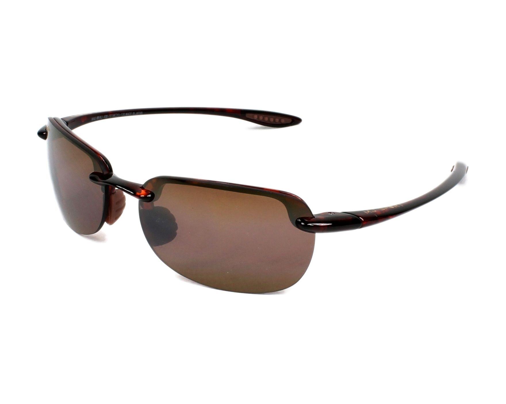 d97bb1c47b891 Sunglasses Maui Jim H-408 10 56-15 Havana profile view
