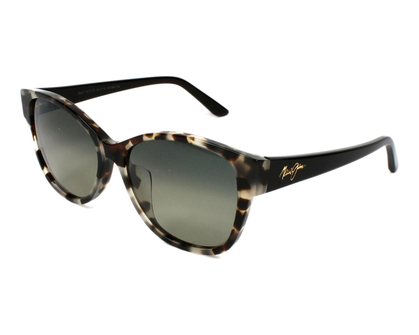 262d4cad6de5 Sunglasses Maui Jim GS-732 05T - Havana Brown profile view